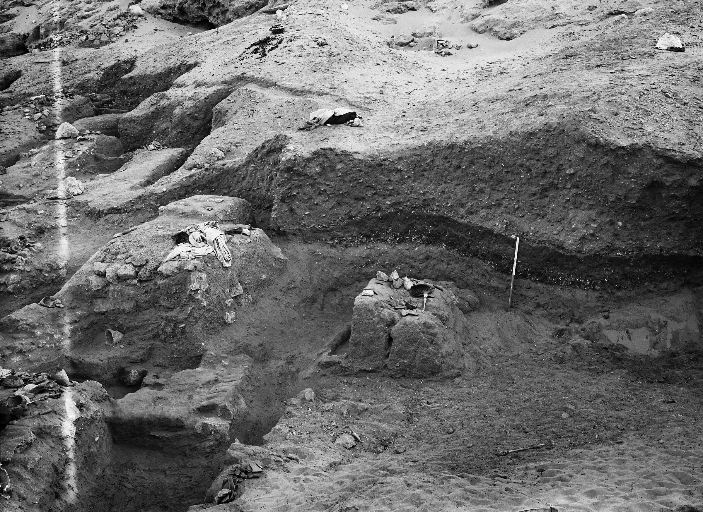 Wadi Cemetery (Reisner; north of W. Cem): Site: Giza; View: GW 62, GW 63, GW 74, GW 75