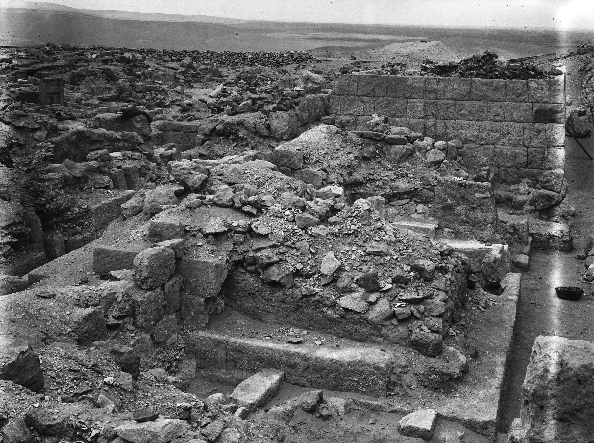 Western Cemetery: Site: Giza; View: G 1026-Annex, G 1027, G 1028, G 1029