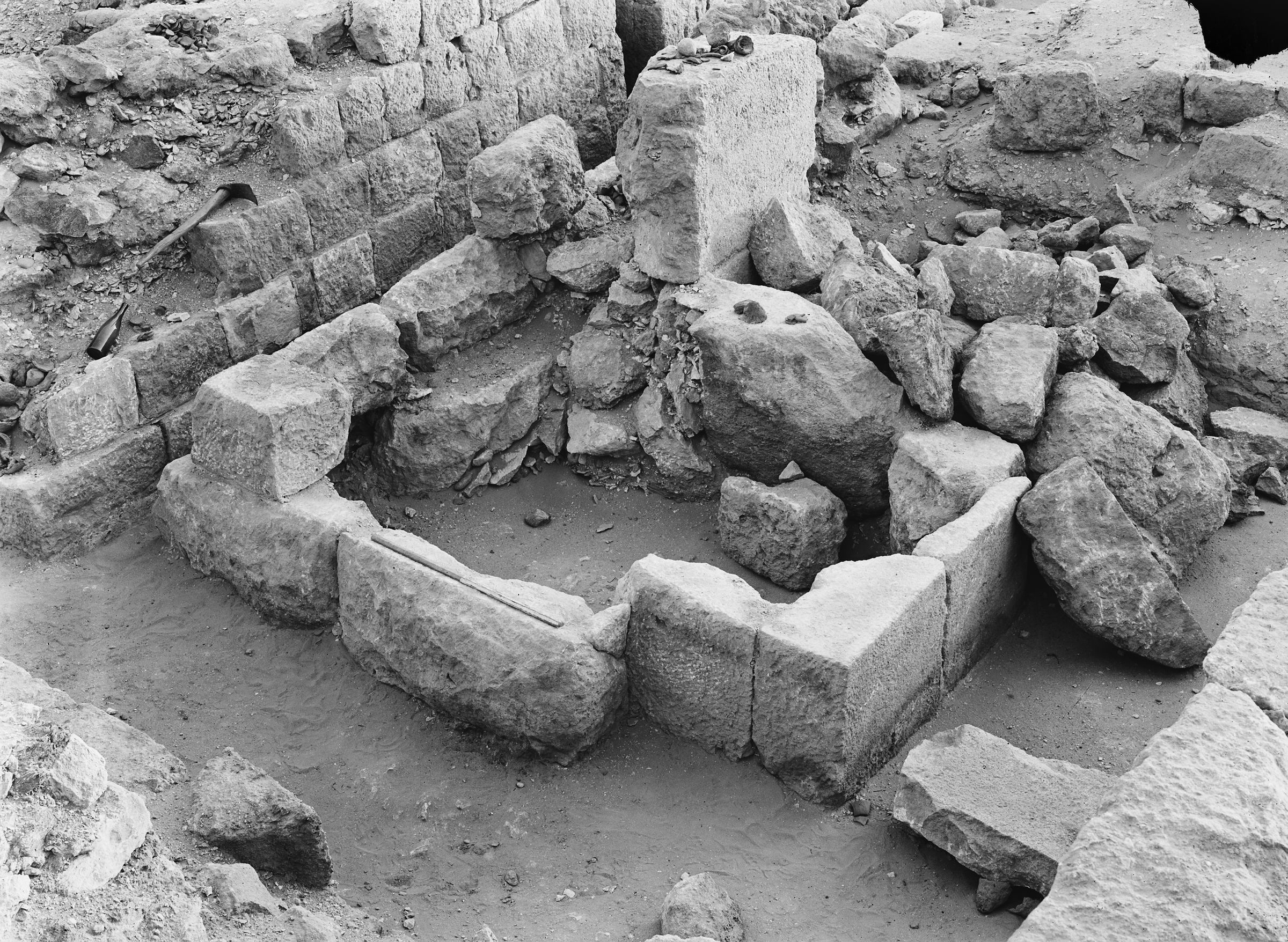 Western Cemetery: Site: Giza; View: G 1031