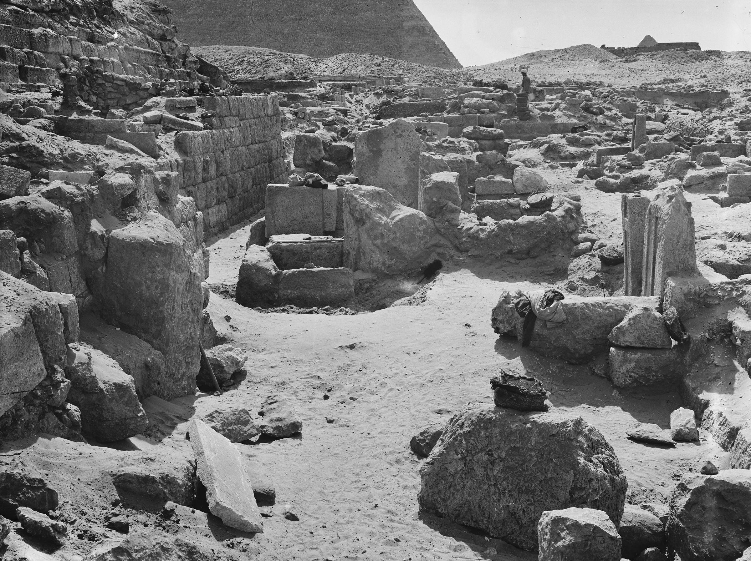 Western Cemetery: Site: Giza; View: G 1044, G 1045+1046, G 1047, G 1029
