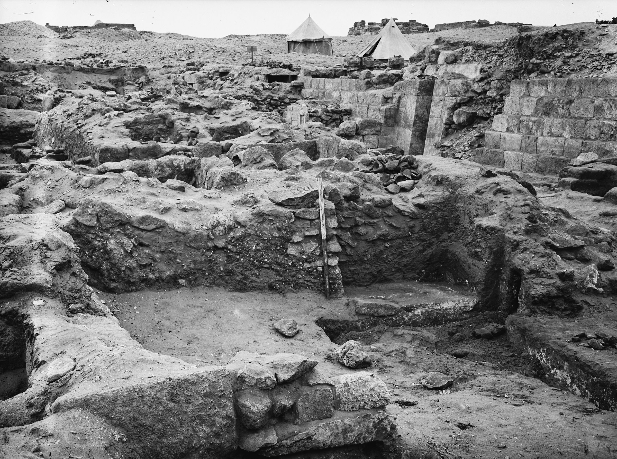 Western Cemetery: Site: Giza; View: G 1035, G 1033+1033a