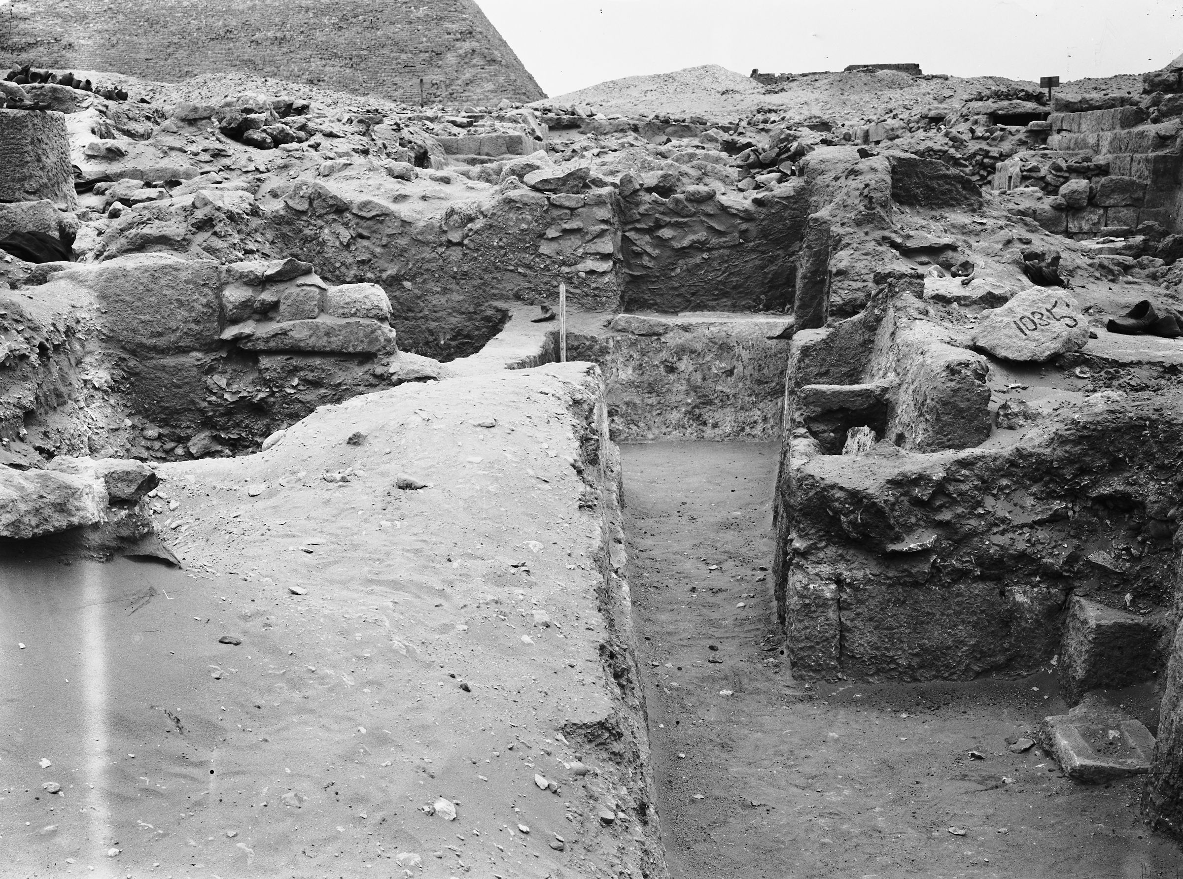 Western Cemetery: Site: Giza; View: G 1035, G 1036, G 1043