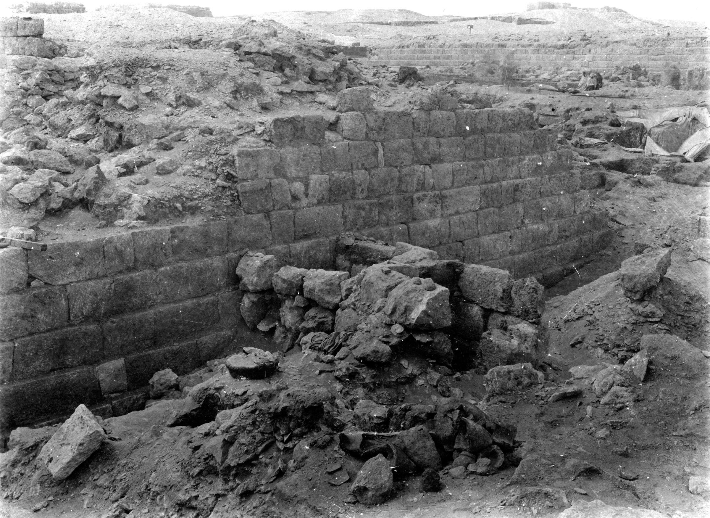 Western Cemetery: Site: Giza; View: G 1020