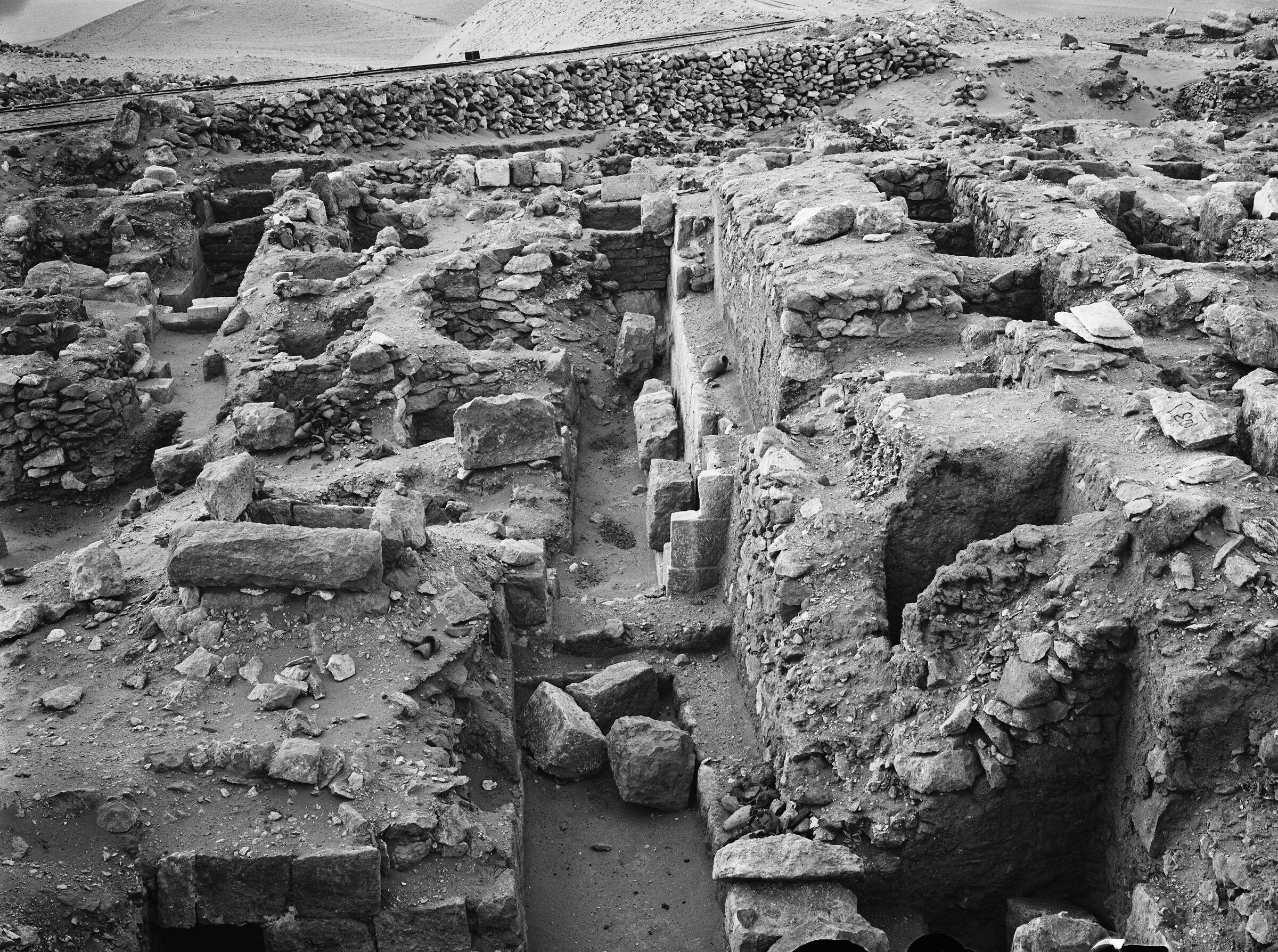 Western Cemetery: Site: Giza; View: G 1037, G 1037-Annex, G 1039, G 1111, G 1112+1113