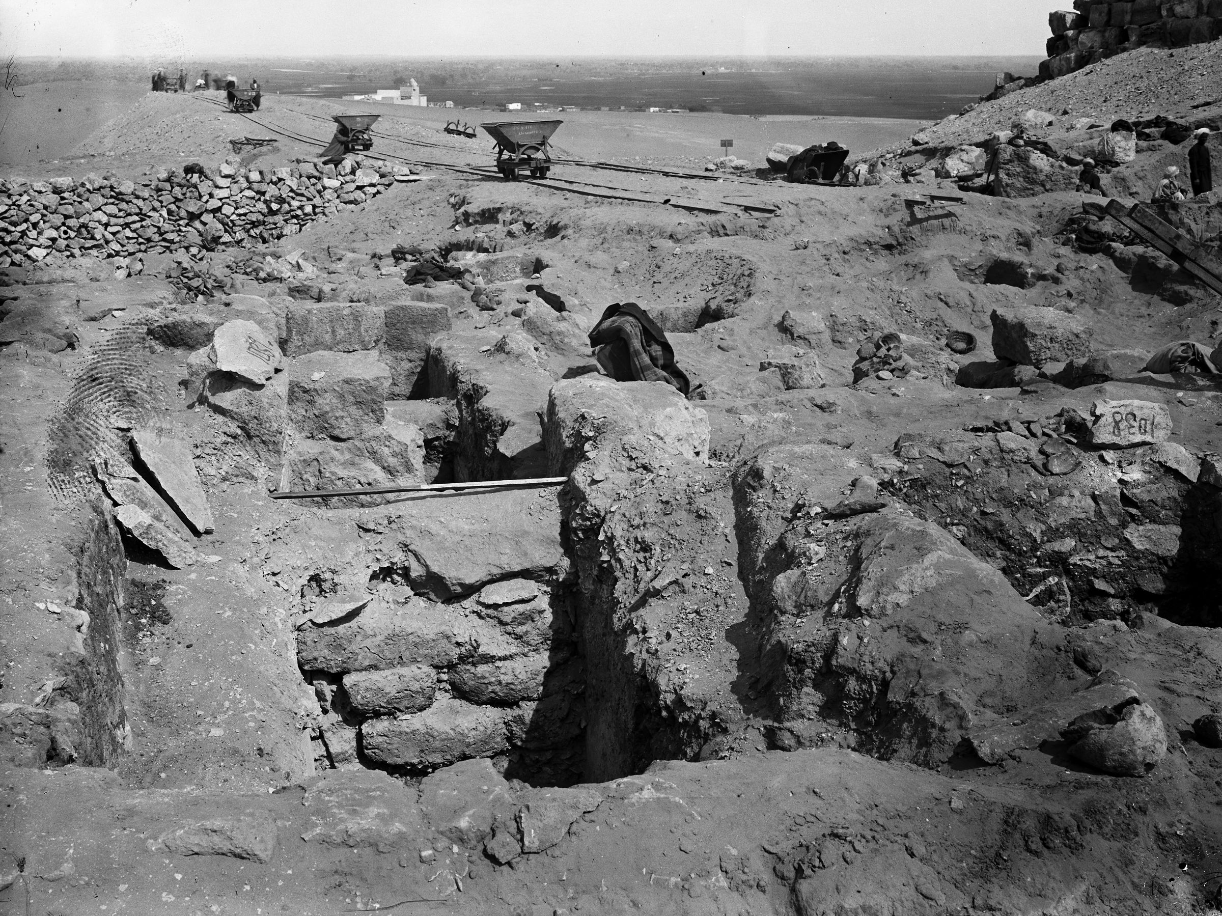 Western Cemetery: Site: Giza; View: G 1039, G 1038