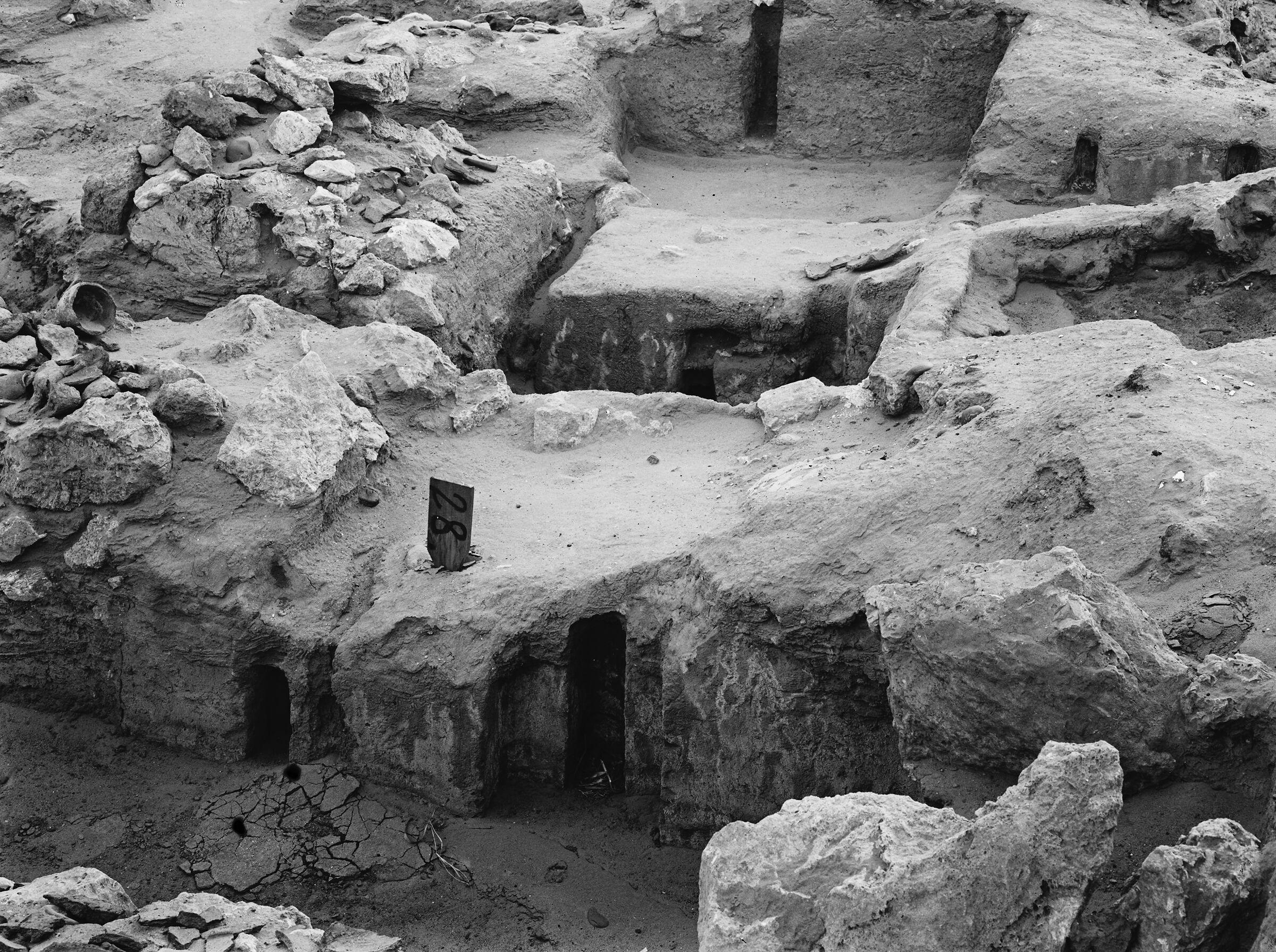 Wadi Cemetery (Reisner; north of W. Cem): Site: Giza; View: GW 28, GW 29, GW 48, GW 49, GW 50, GW 51, GW 52