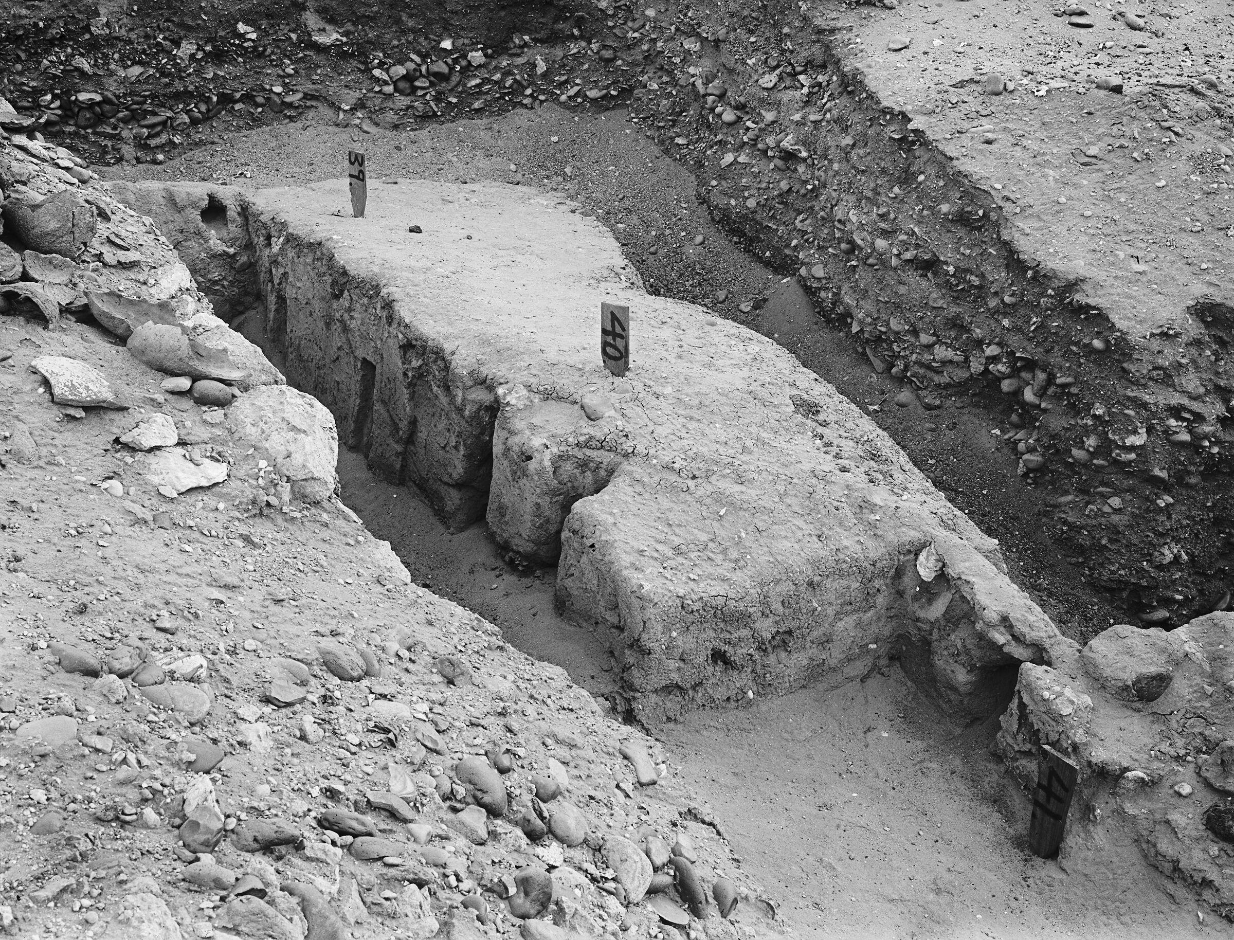 Wadi Cemetery (Reisner; north of W. Cem): Site: Giza; View: GW 36, GW 39, GW 40, GW 41