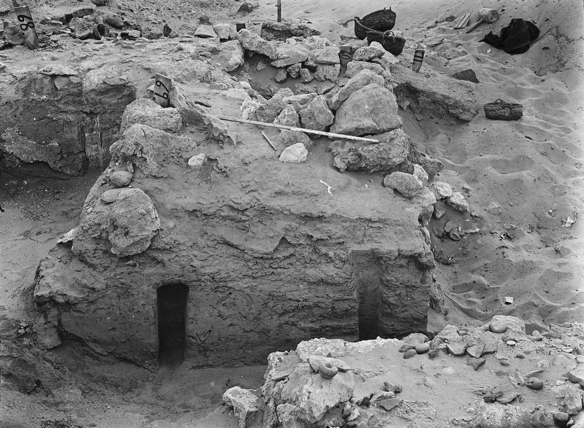 Wadi Cemetery (Reisner; north of W. Cem): Site: Giza; View: GW 68, GW 69, GW 70, GW 71, GW 72, GW 77