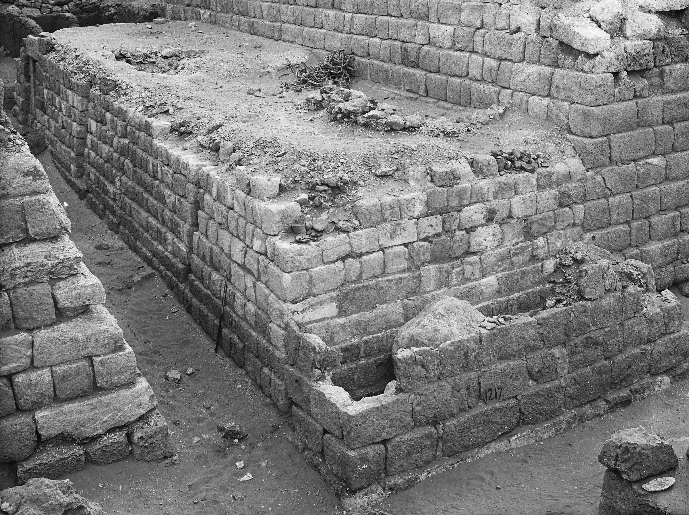 Western Cemetery: Site: Giza; View: G 1206, G 1207, G 1217