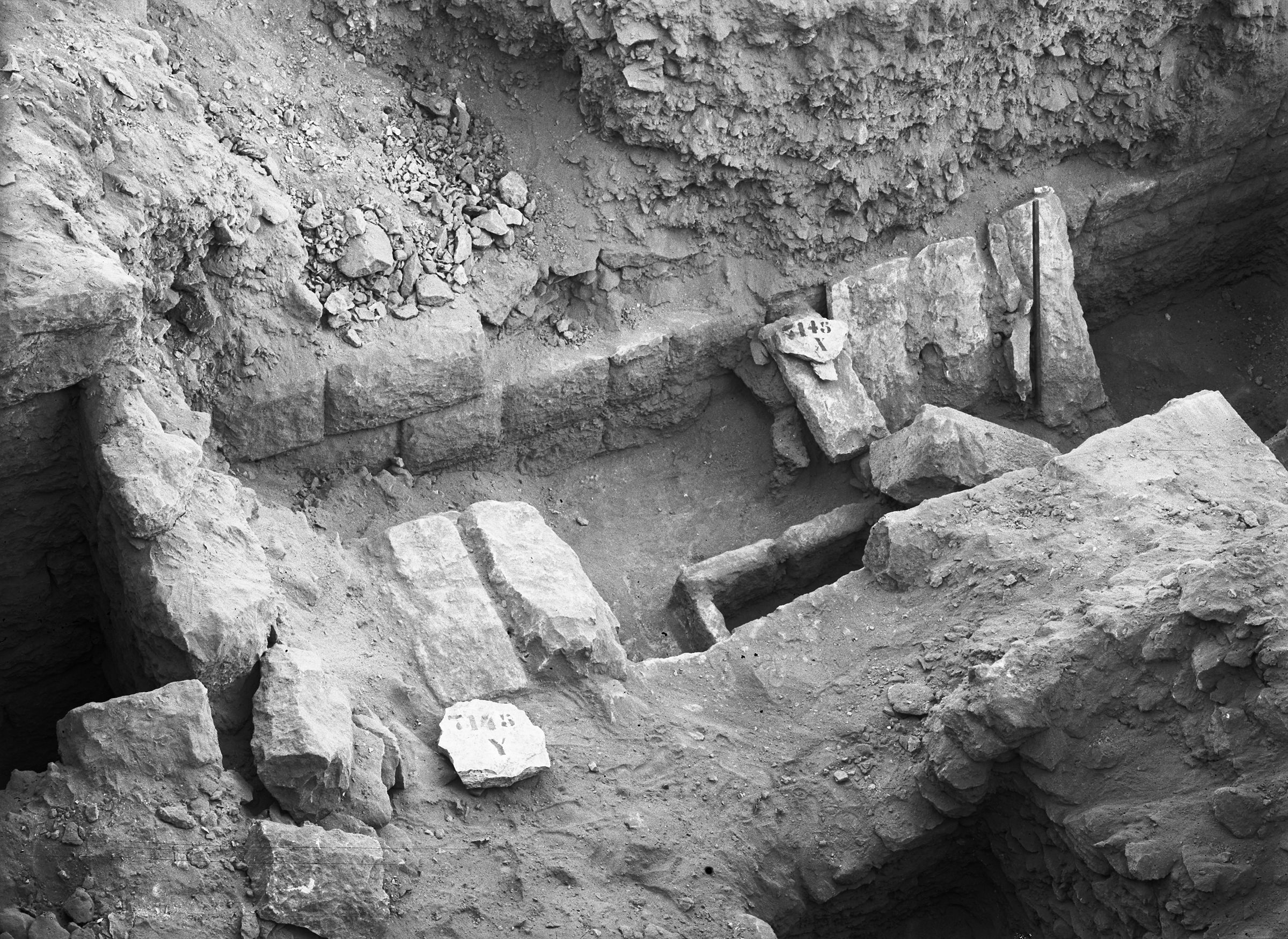 Eastern Cemetery: Site: Giza; View: G 7143, G 7145+7147