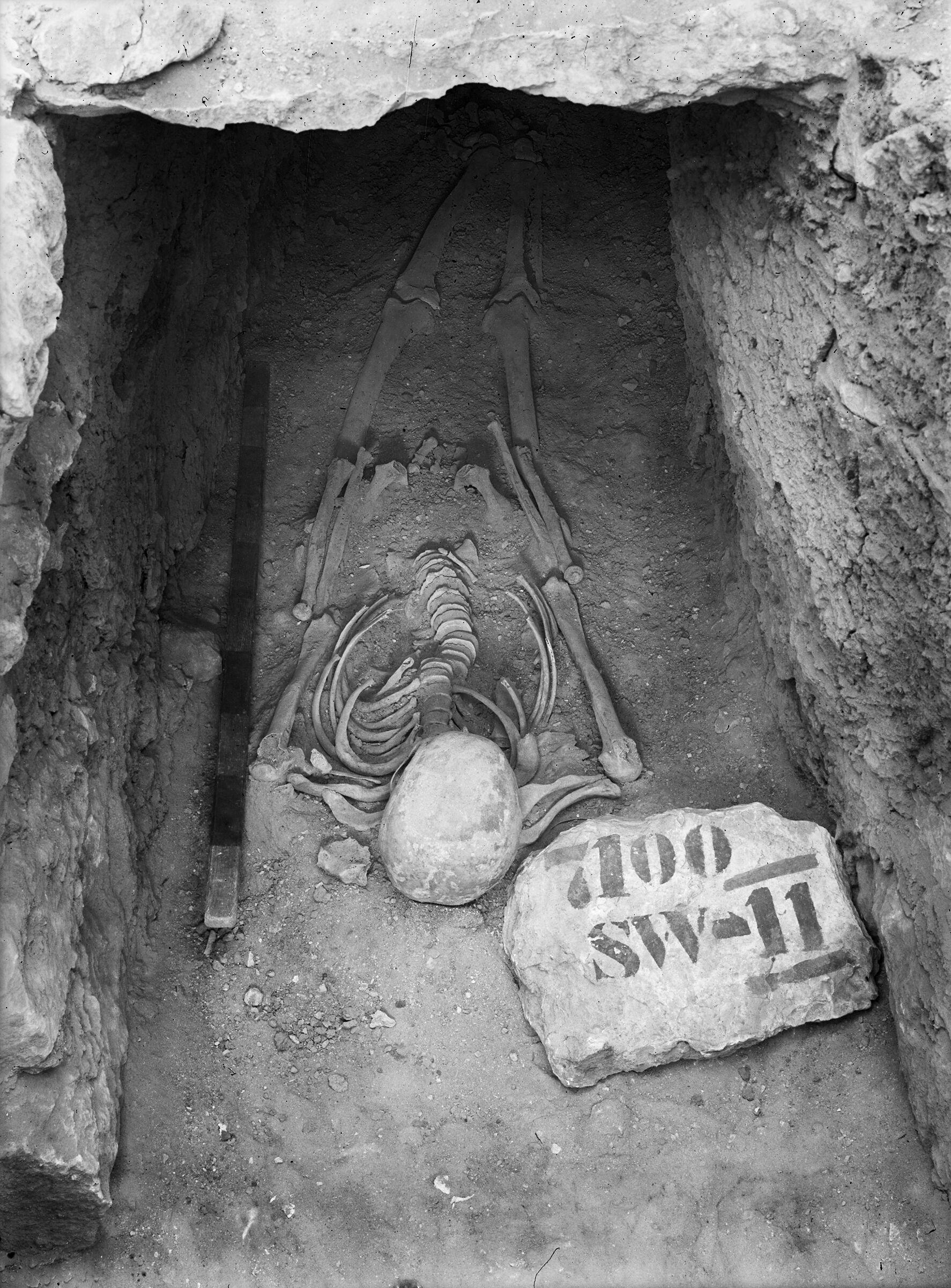 Eastern Cemetery: Site: Giza; View: G 7100 SW II (G 7100 SW 2)