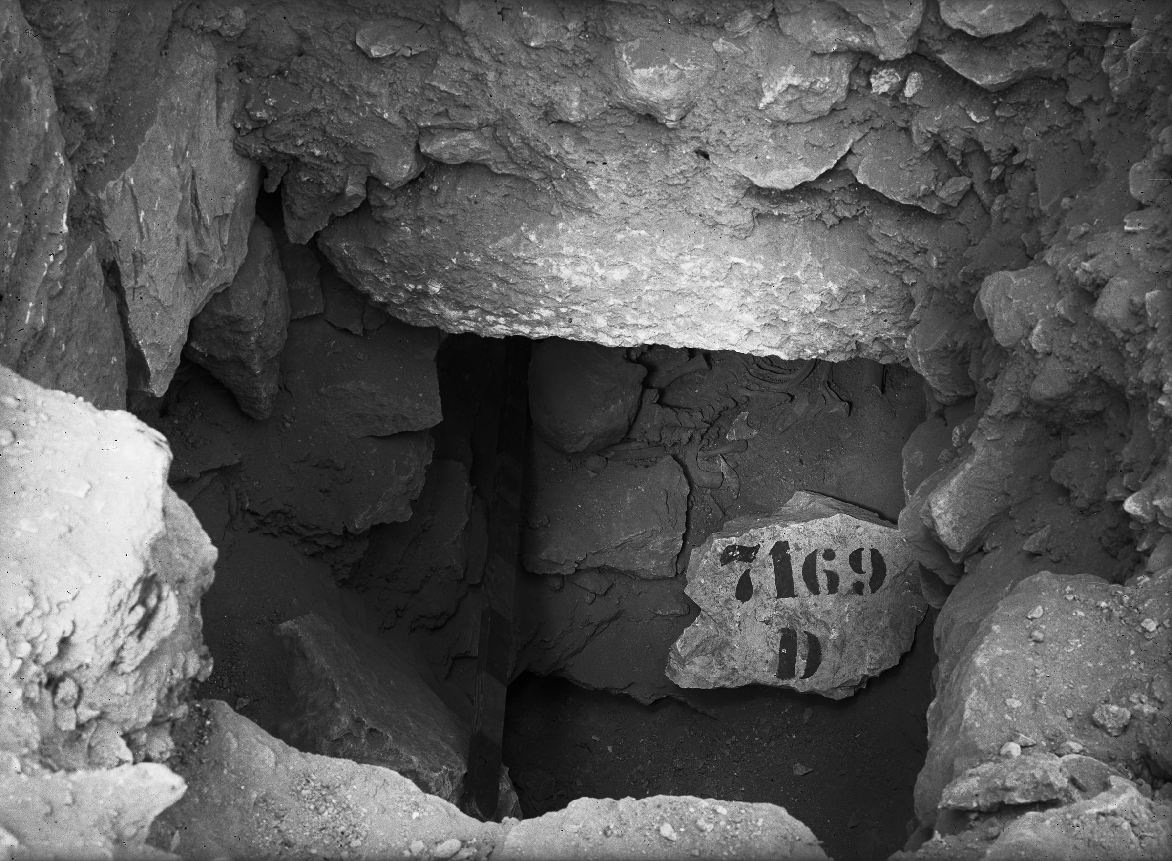 Eastern Cemetery: Site: Giza; View: G 7169