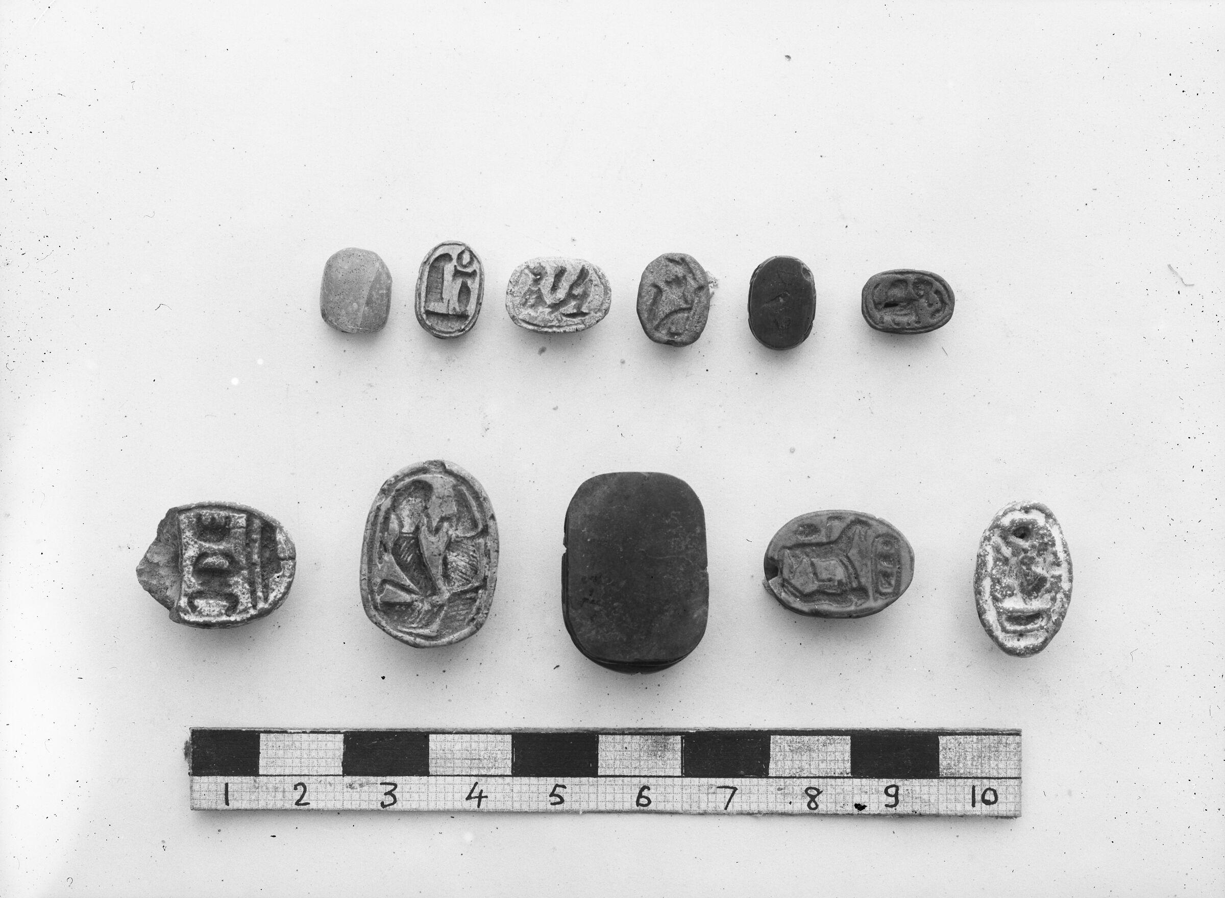 Object(s) photograph: Site: Giza; view: street G 7300, G 7520, G 7330-7340, G 7530-7540, street G 7400, G 7230-7240, RR dump VII