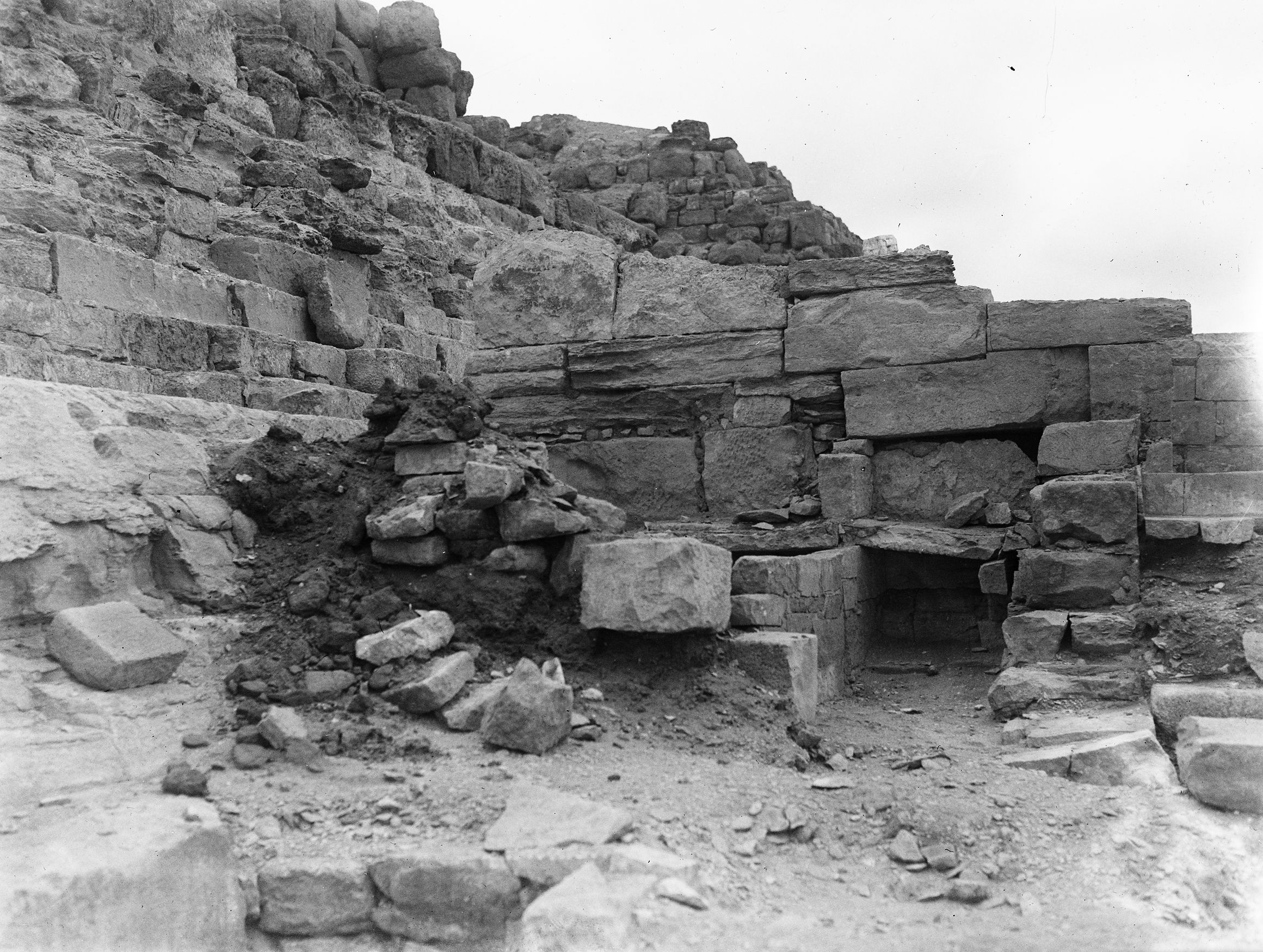 Eastern Cemetery: Site: Giza; View: Isis Temple, G 7011