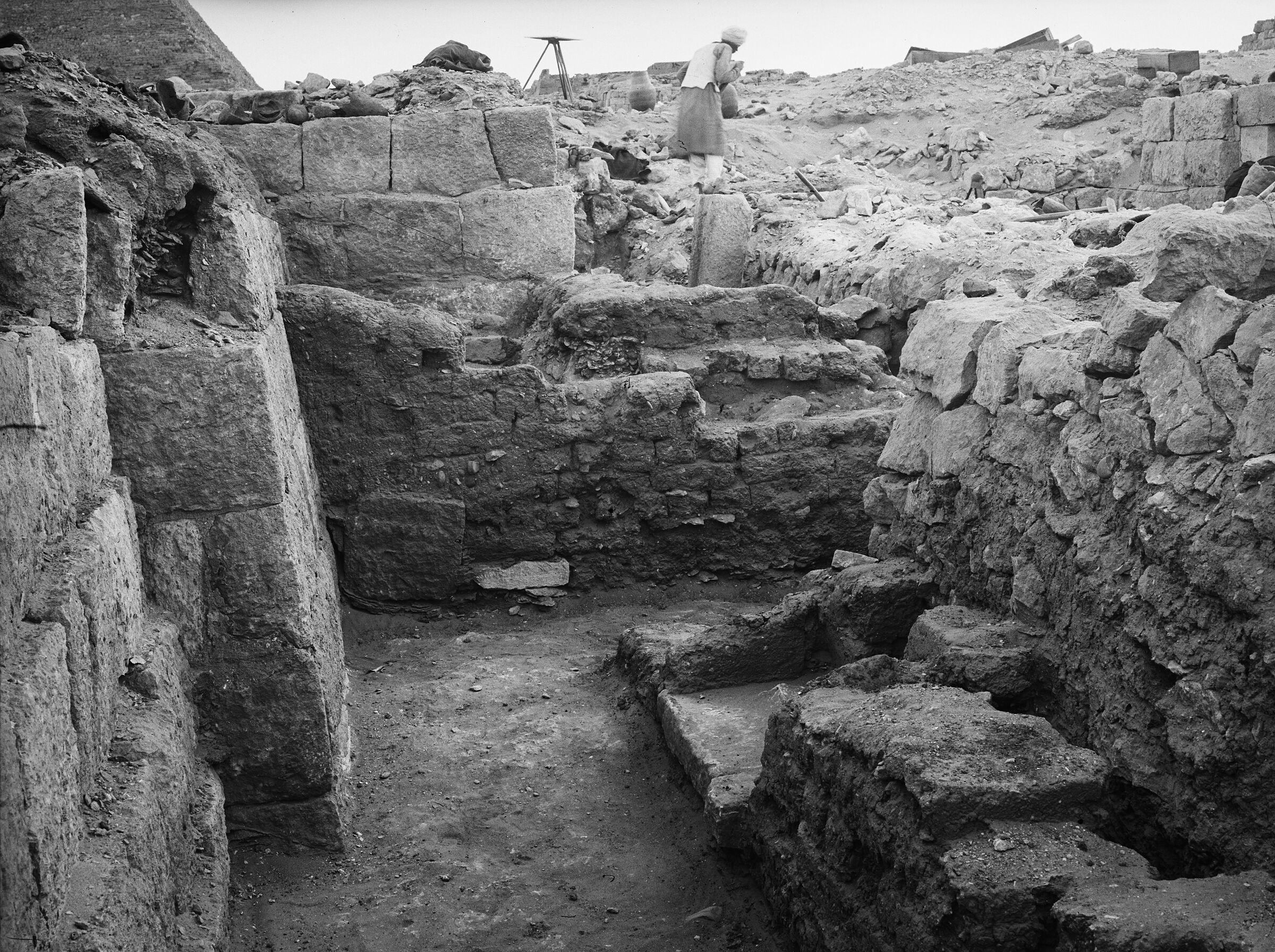 Western Cemetery: Site: Giza; View: G 1021, G 1023, G 1011, G 1025, G 1022