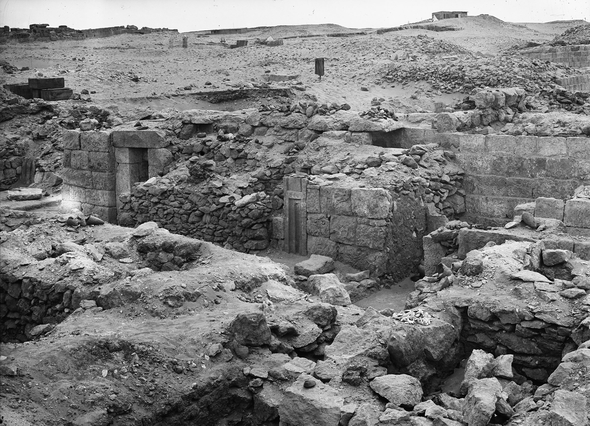 Western Cemetery: Site: Giza; View: G 1020, G 1019, G 1018, G 1016