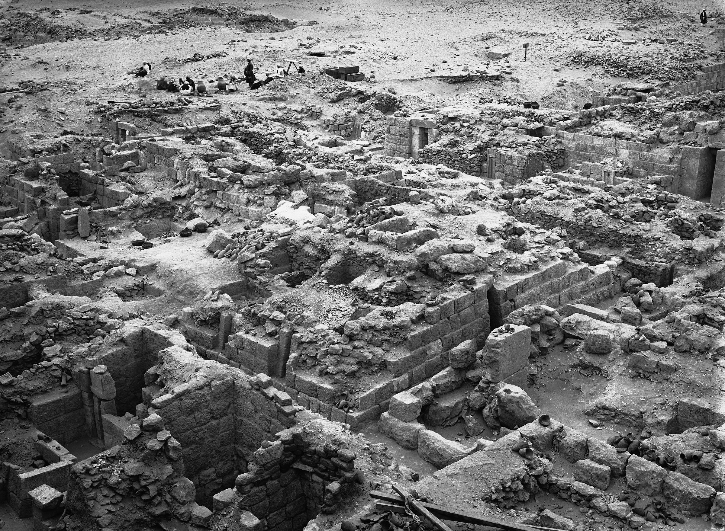 Western Cemetery: Site: Giza; View: G 1025, G 1027, G 1031, G 1022, G 1024, G 1011