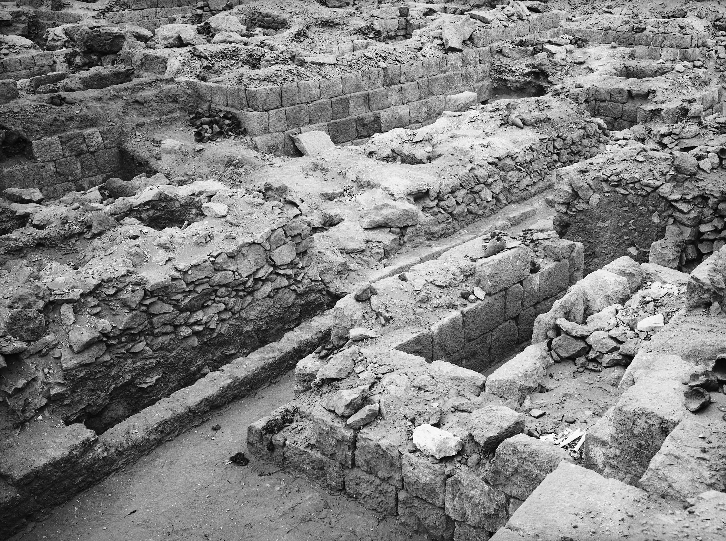 Western Cemetery: Site: Giza; View: G 1019, G 1022, G 1021