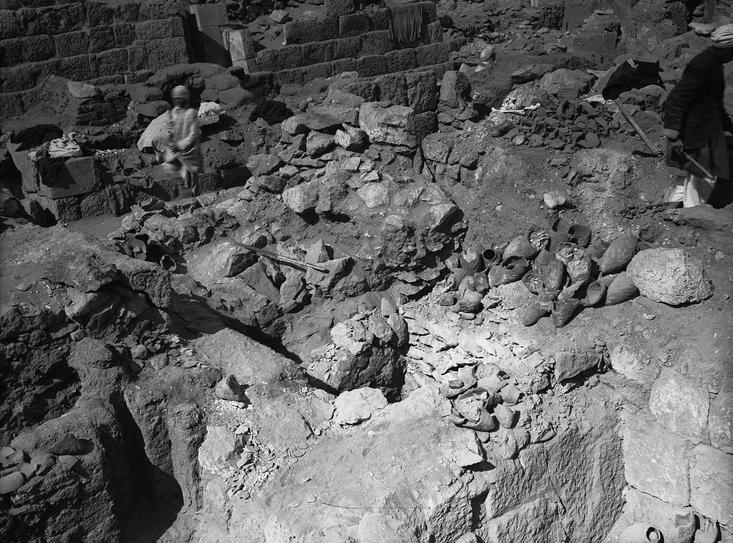 Western Cemetery: Site: Giza; View: G 1032, G 1030, G 1033+1033a