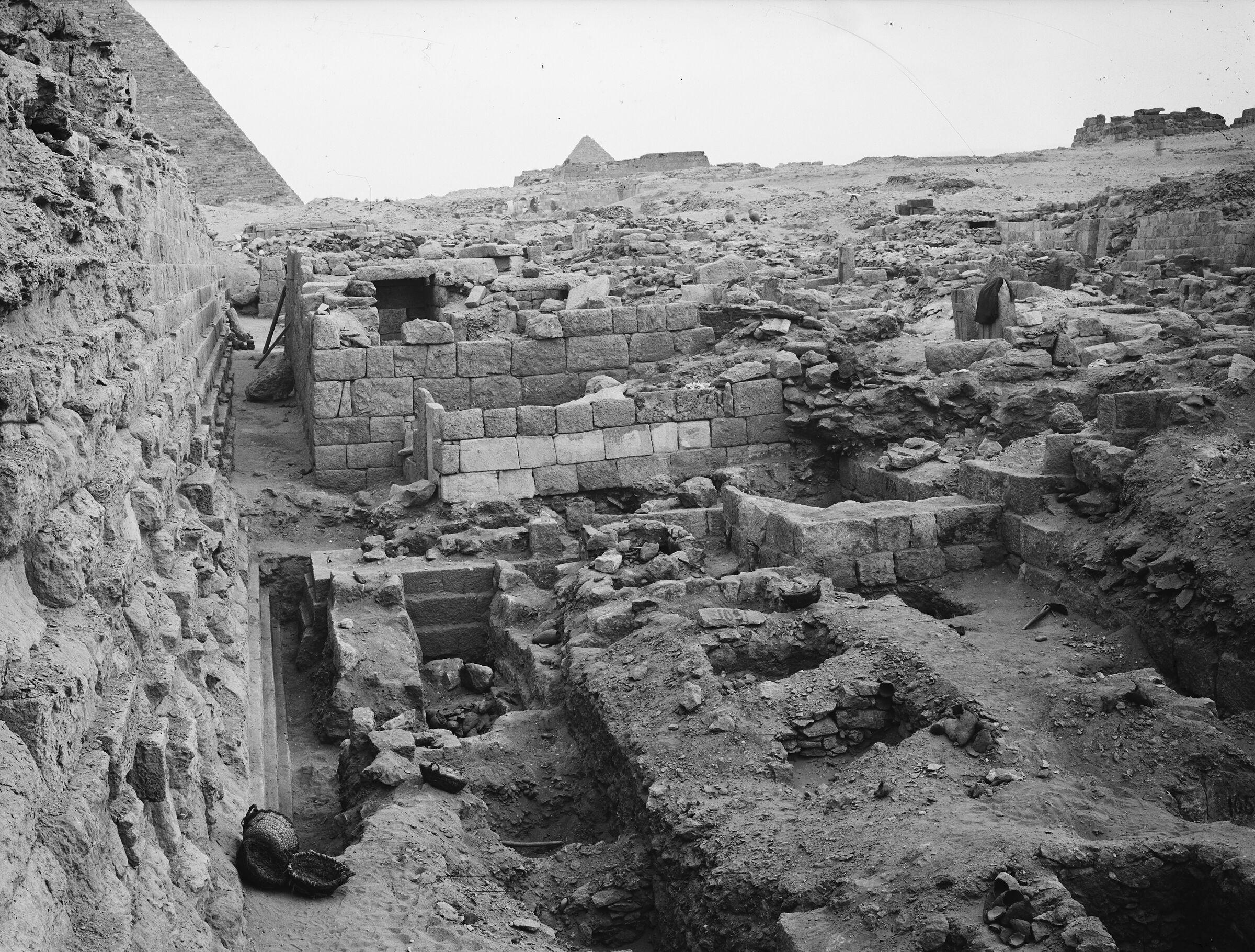 Western Cemetery: Site: Giza; View: G 1051, G 1050, G 1086, G 1085, G 1049, G 1048, G 1047
