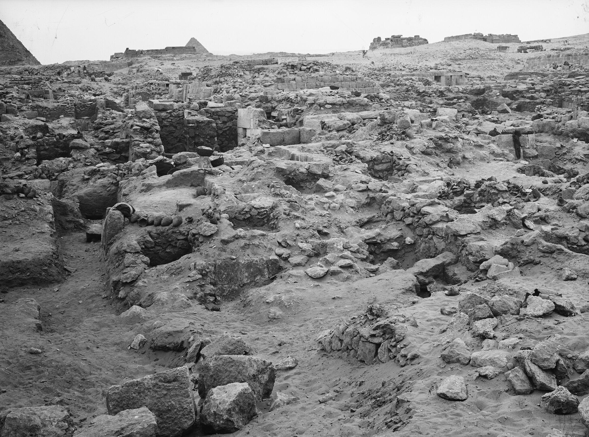 Western Cemetery: Site: Giza; View: G 1080, G 1079, G 1060, G 1074, G 1072