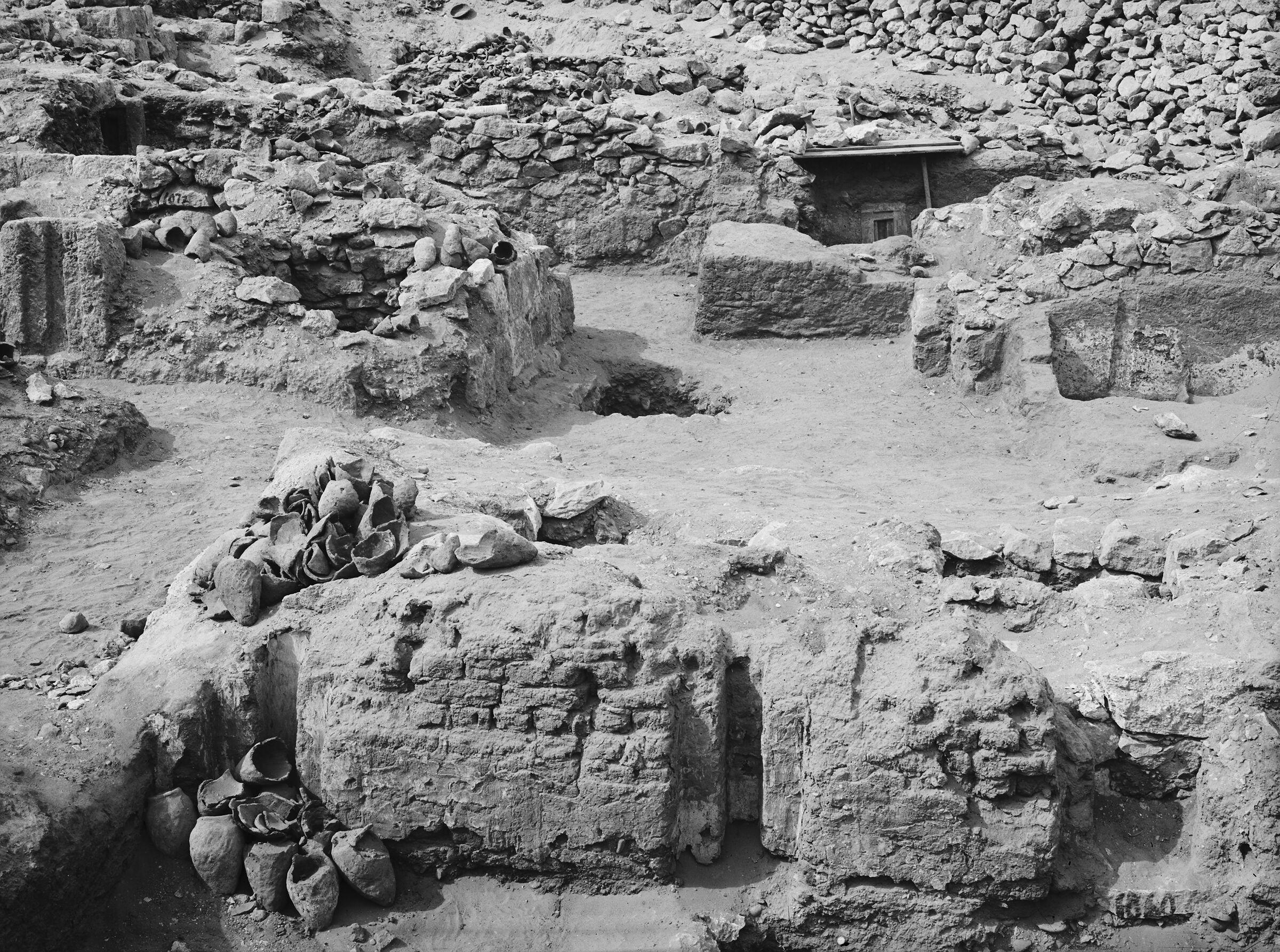 Western Cemetery: Site: Giza; View: G 1060, G 1072, G 1078, G 1080, G 1079, G 1123