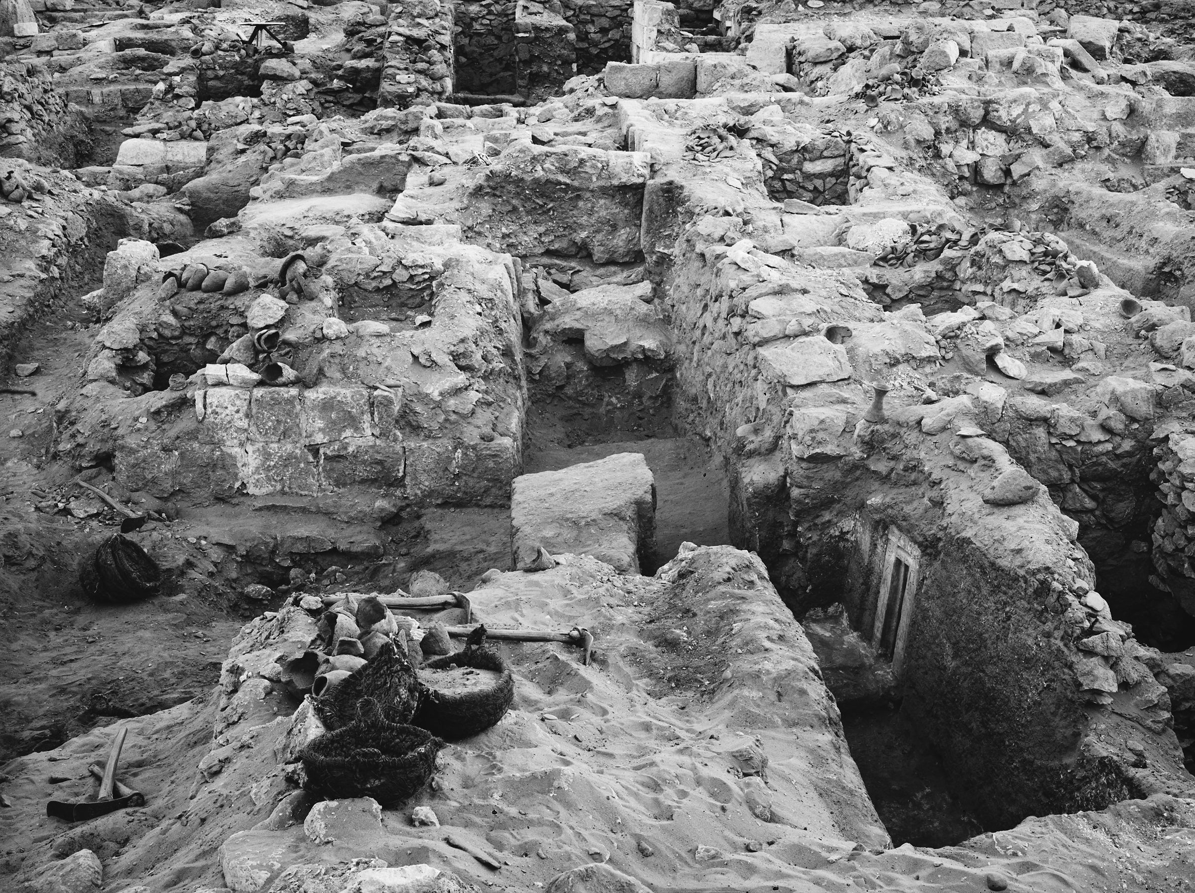 Western Cemetery: Site: Giza; View: G 1123, G 1122, G 1077, G 1121, G 1079, G 1078, G 1072