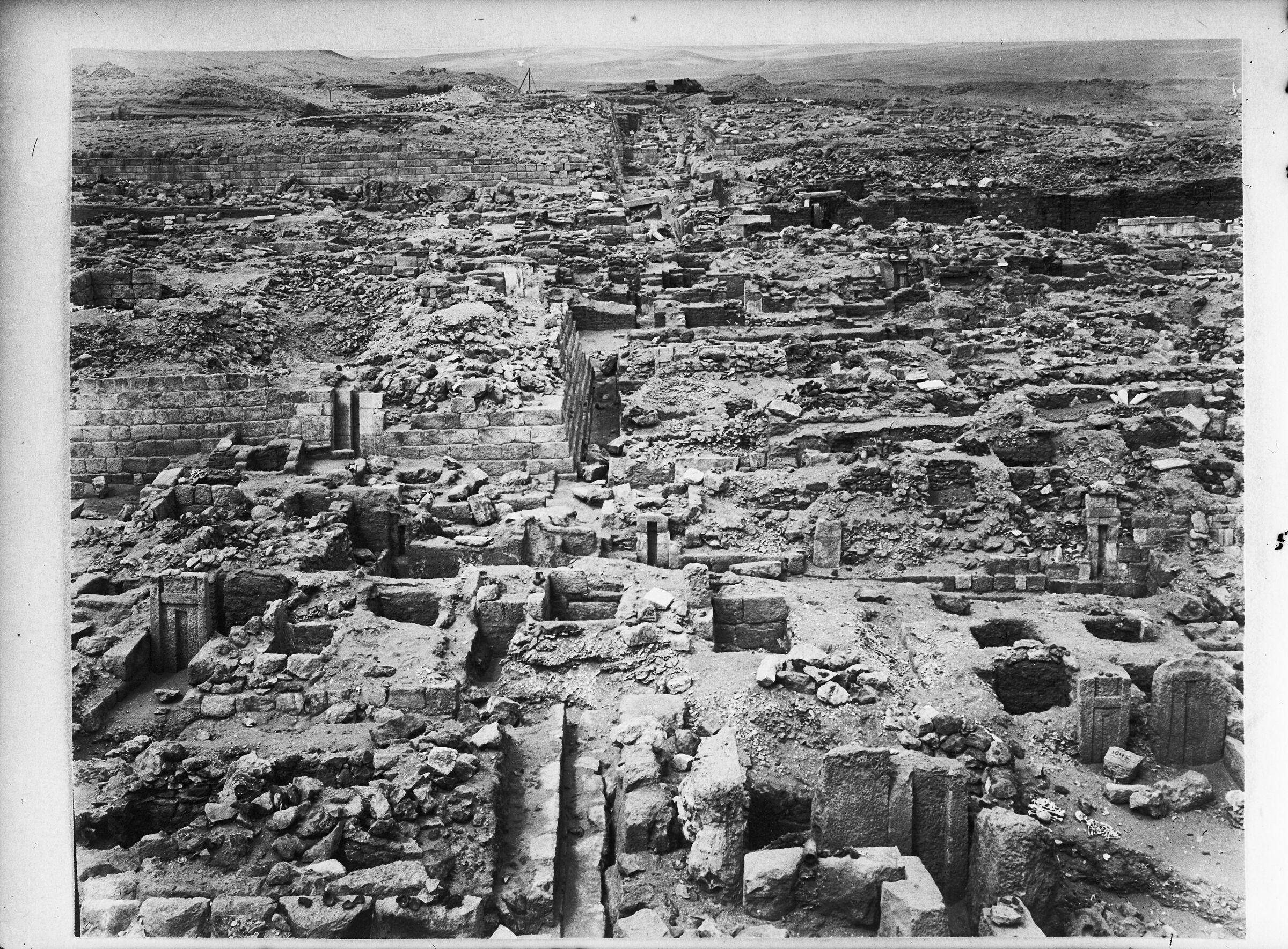 Western Cemetery: Site: Giza; View: G 1031, G 1044, G 1042, G 1043, G 1045+1046