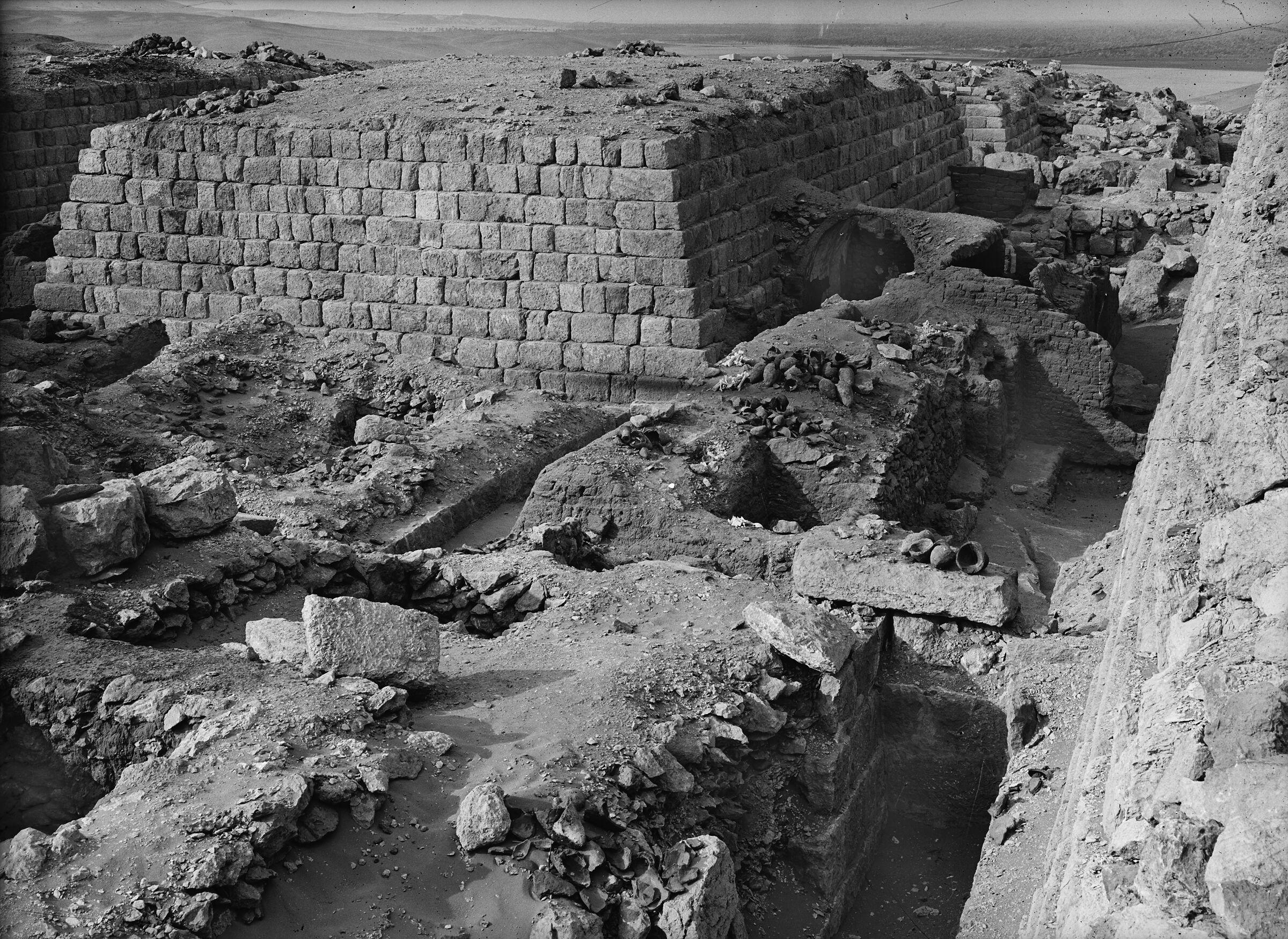 Western Cemetery: Site: Giza; View: G 1363, G 1364, G 1365, G 1366, G 1360, G 1203