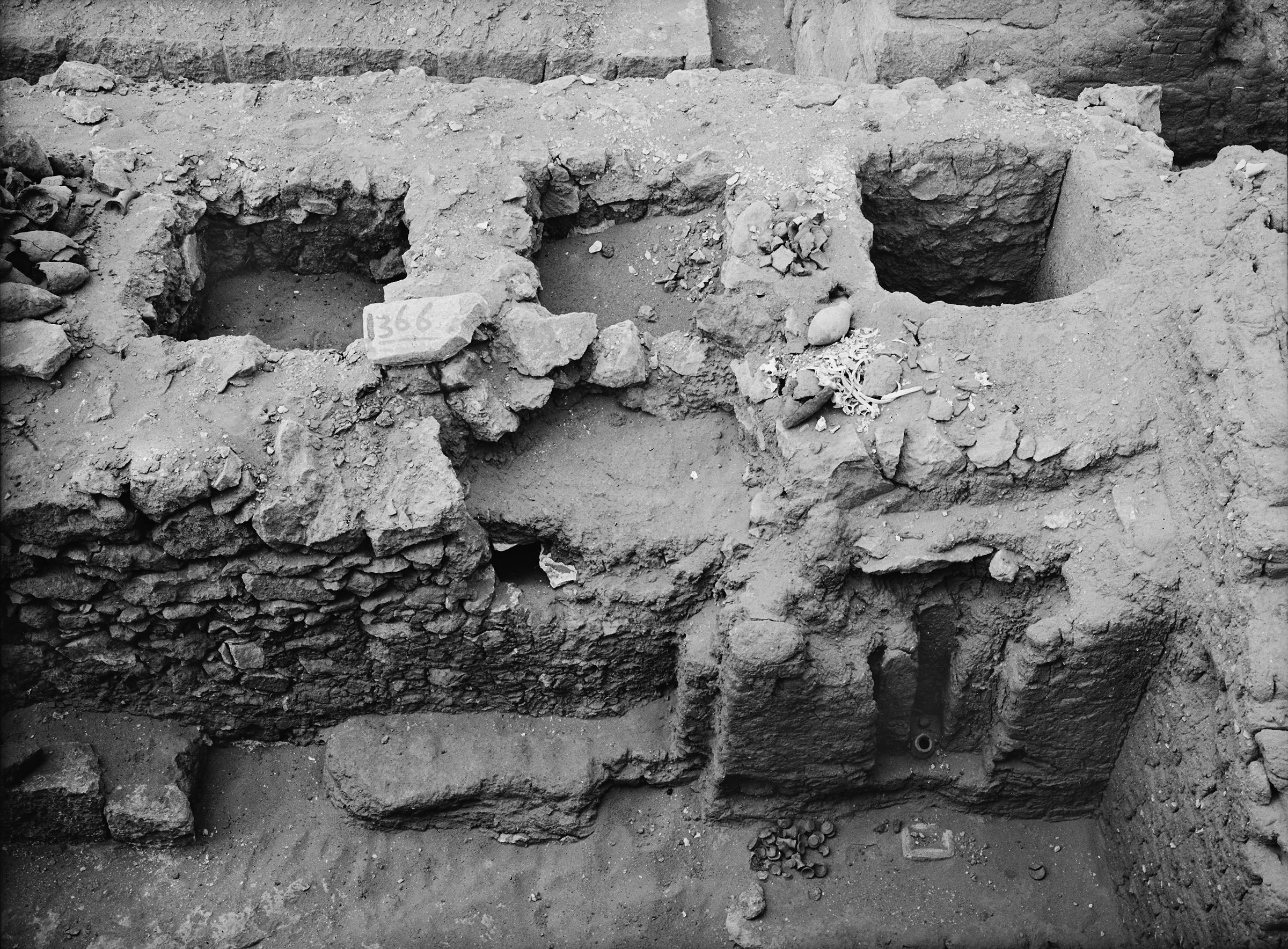 Western Cemetery: Site: Giza; View: G 1366