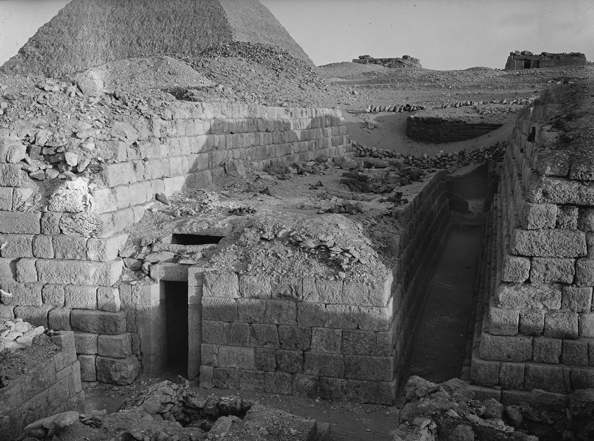Western Cemetery: Site: Giza; View: G 1208