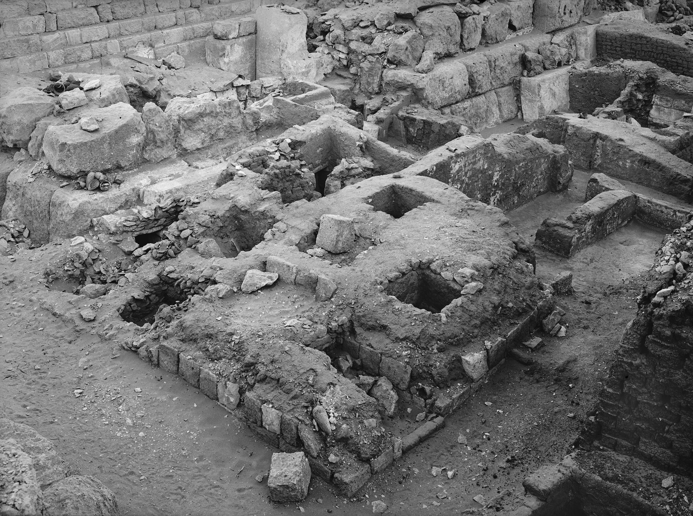 Western Cemetery: Site: Giza; View: G 1224+1311, G 1223