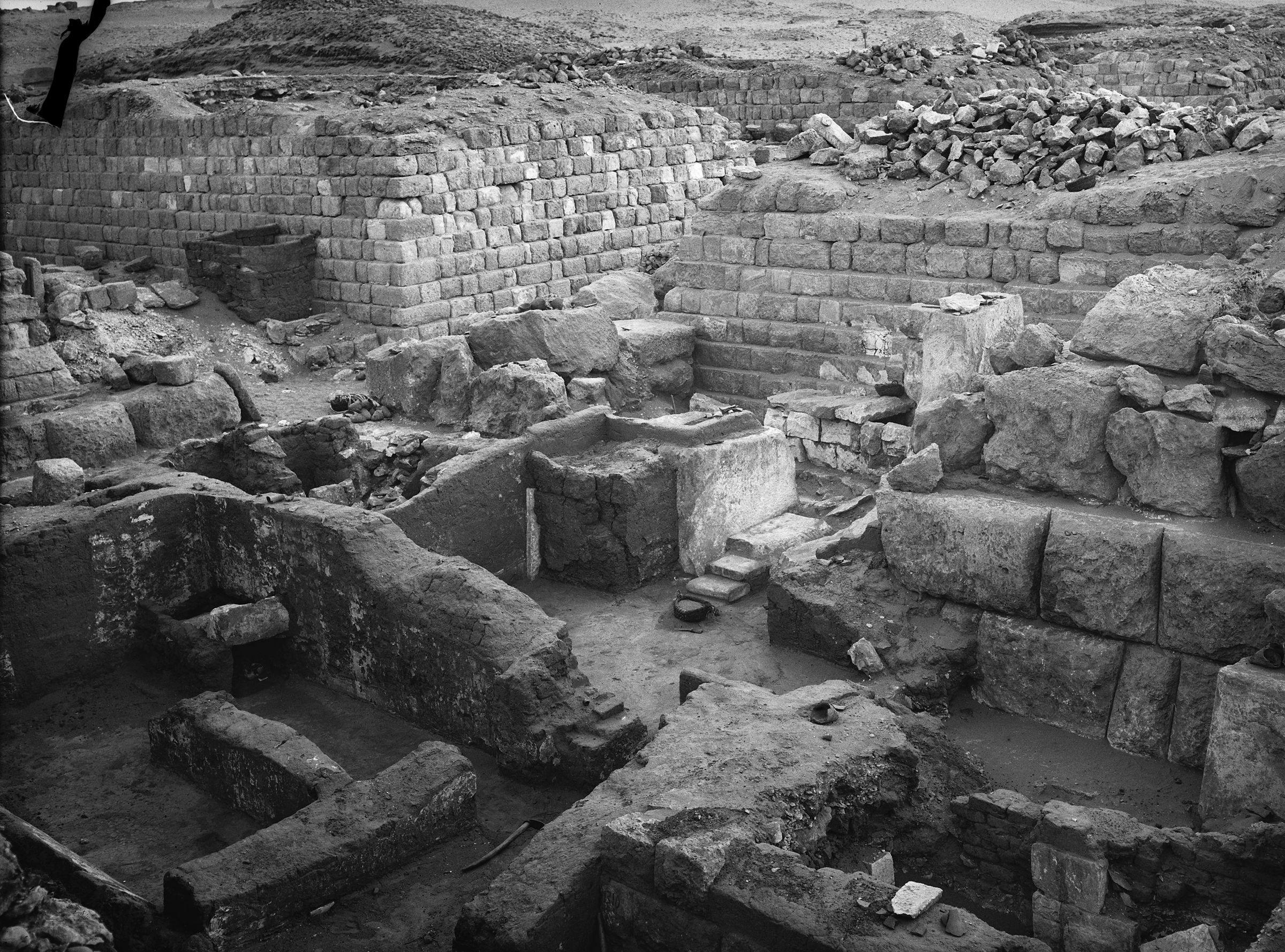 Western Cemetery: Site: Giza; View: G 1223, G 1203