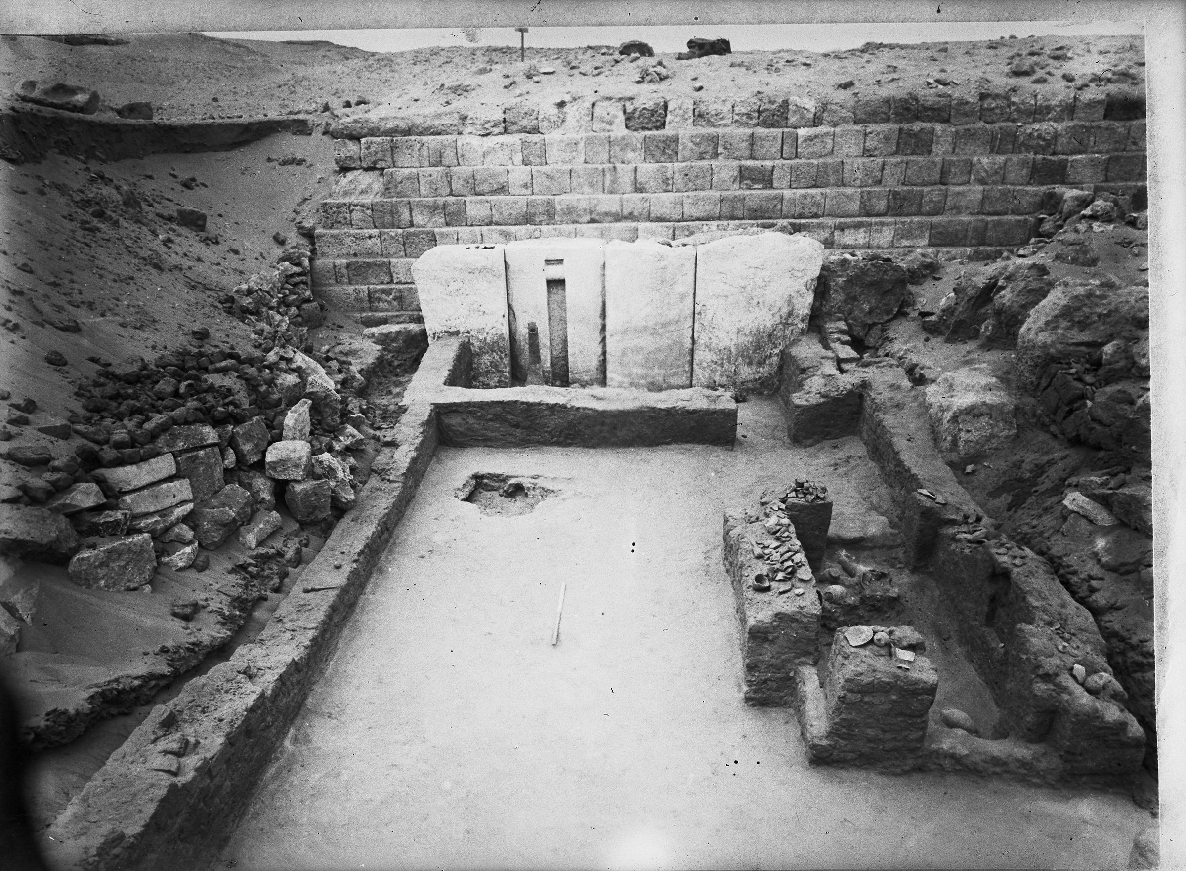 Western Cemetery: Site: Giza; View: G 1201