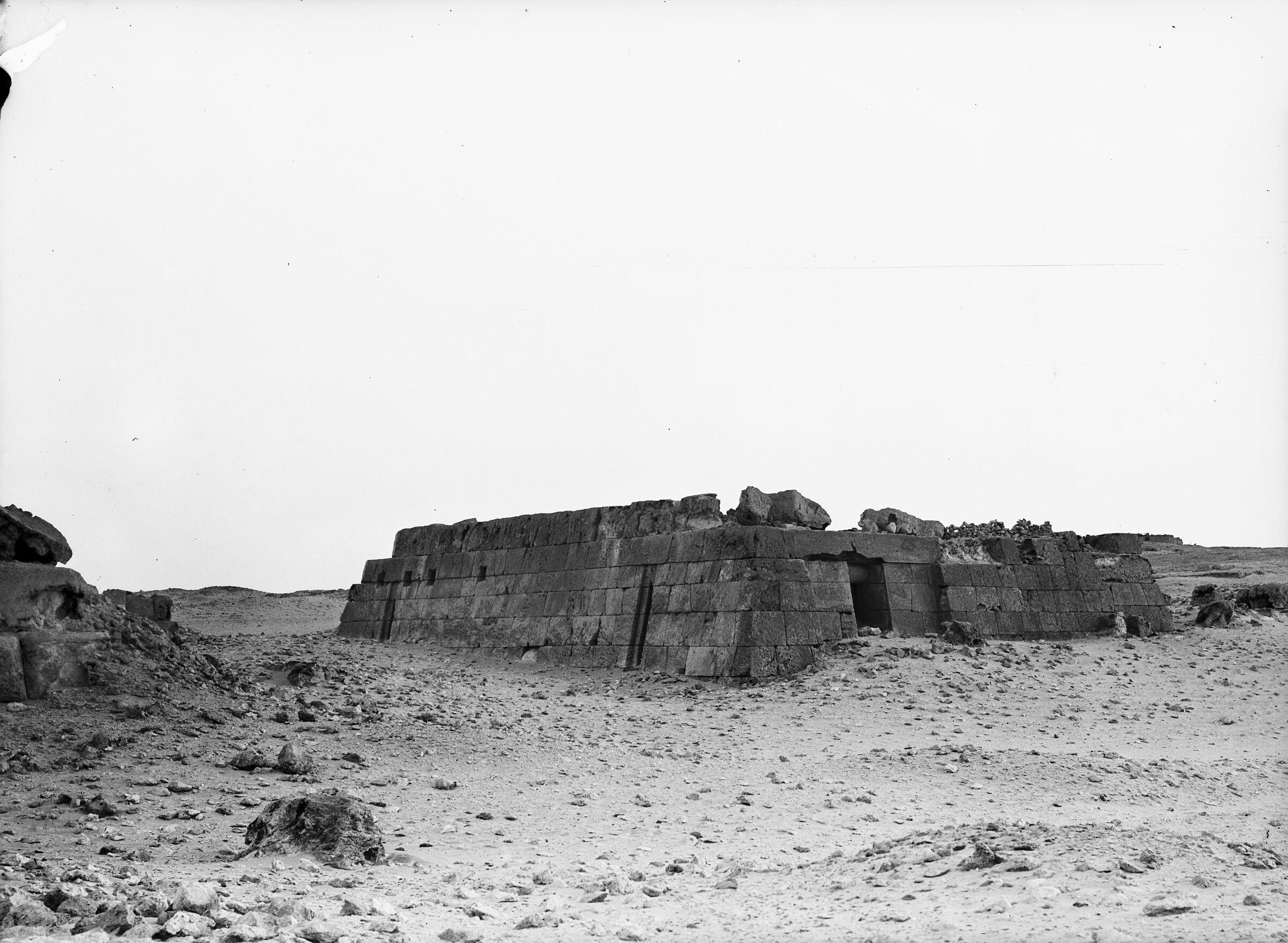 Western Cemetery: Site: Giza; View: Lepsius 14