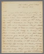 Letter, 1820 March 22