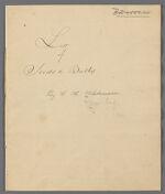 List of Seeds and Bulbs by C.H. Wehdemann