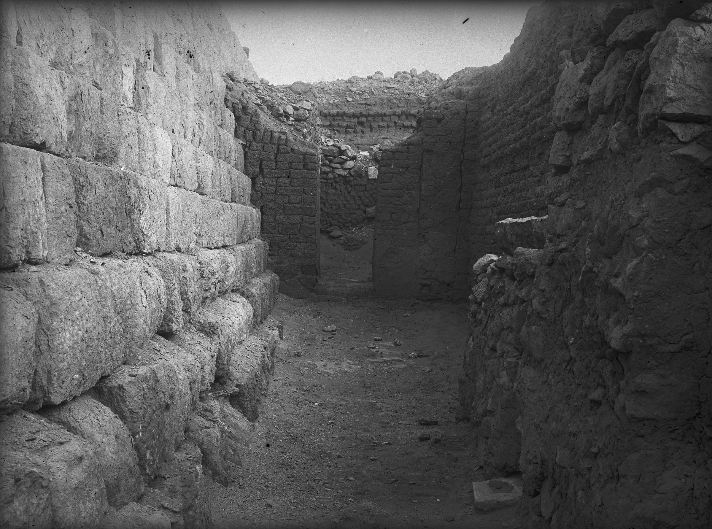 Western Cemetery: Site: Giza; View: G 1405, G 1209, G 1406