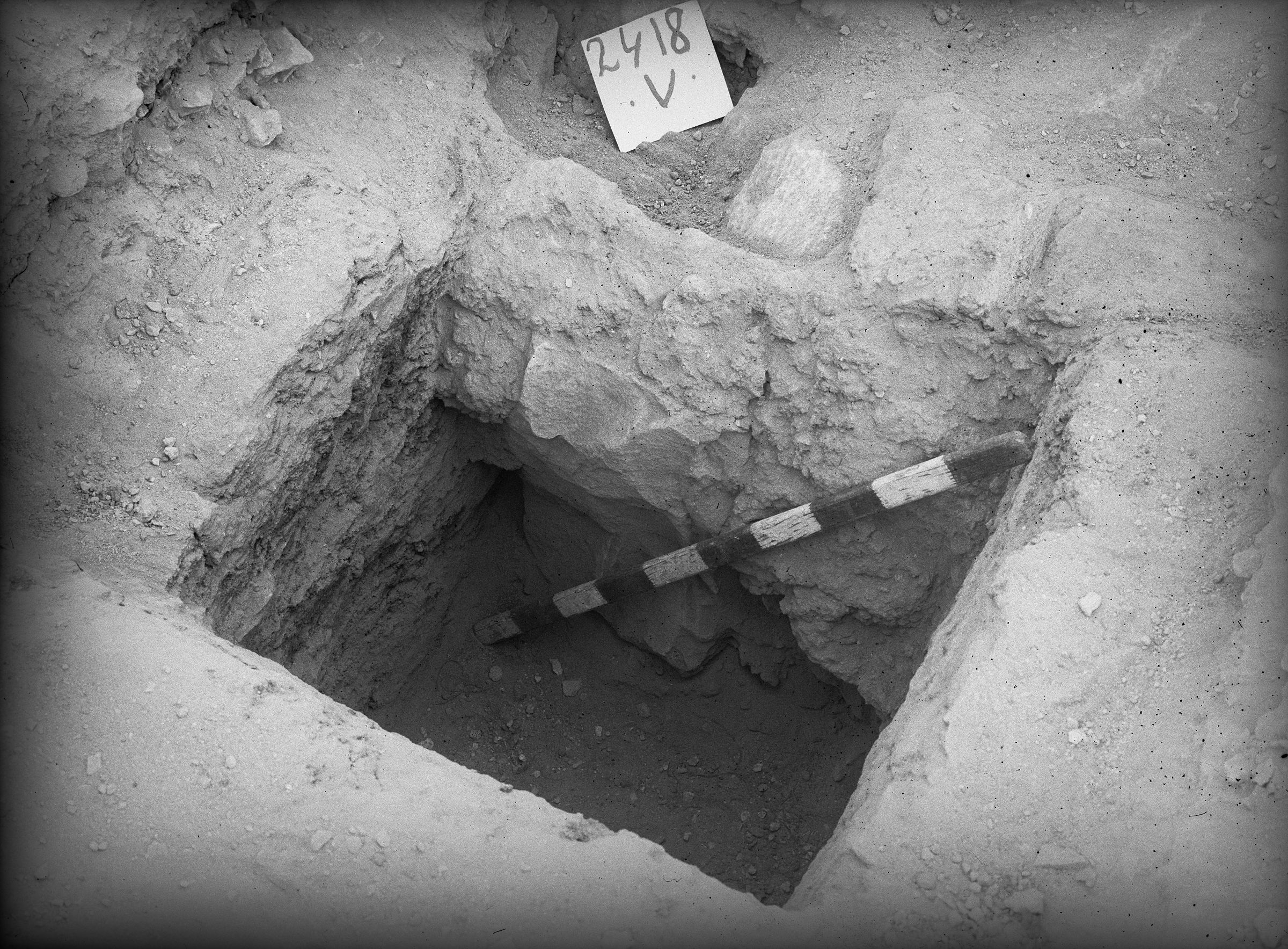 Western Cemetery: Site: Giza; View: G 2418
