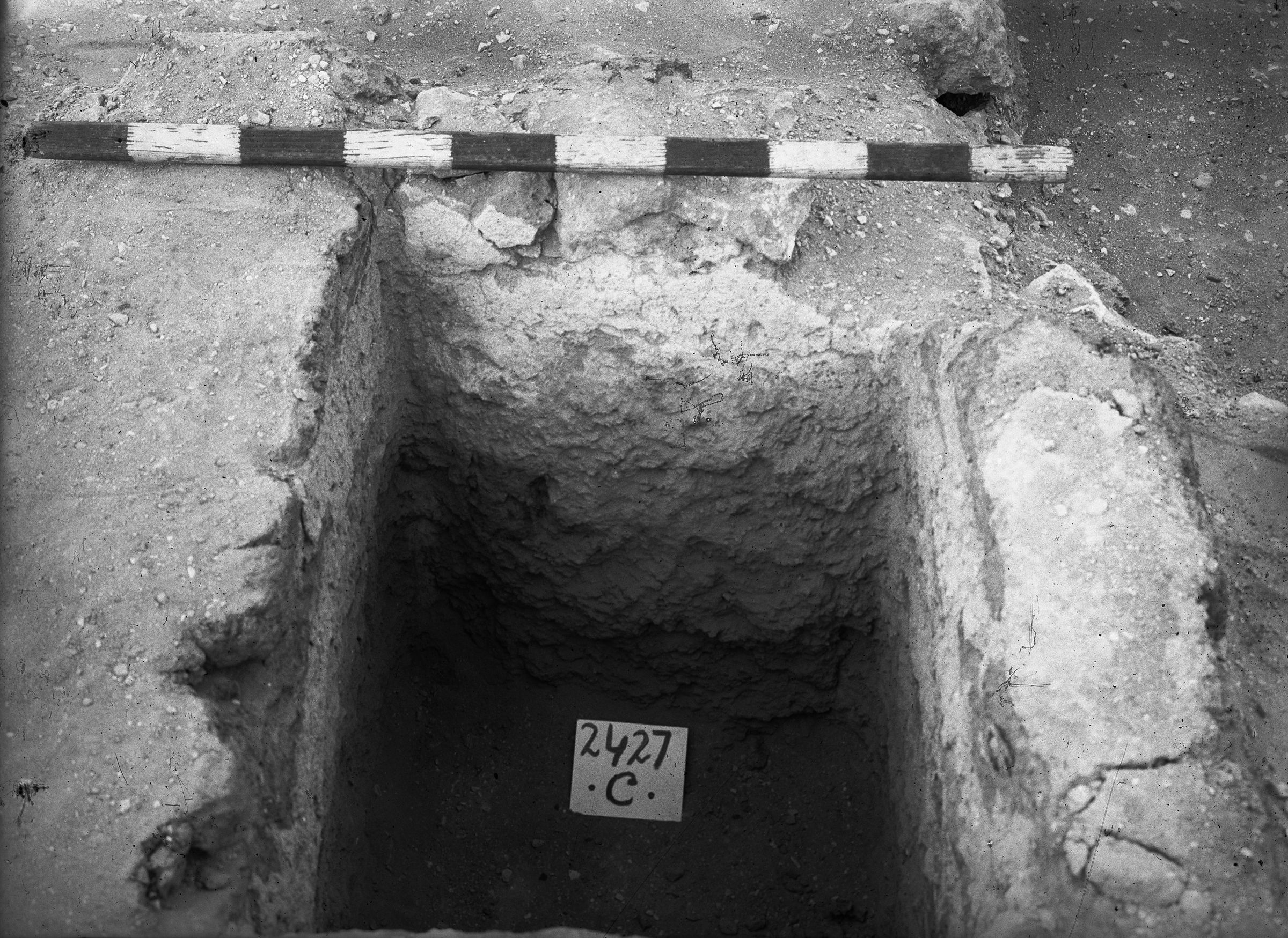 Western Cemetery: Site: Giza; View: G 2427