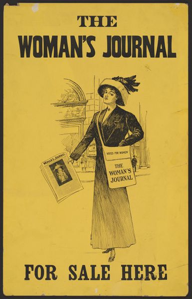 The Woman's Journal for sale here - Poster with text