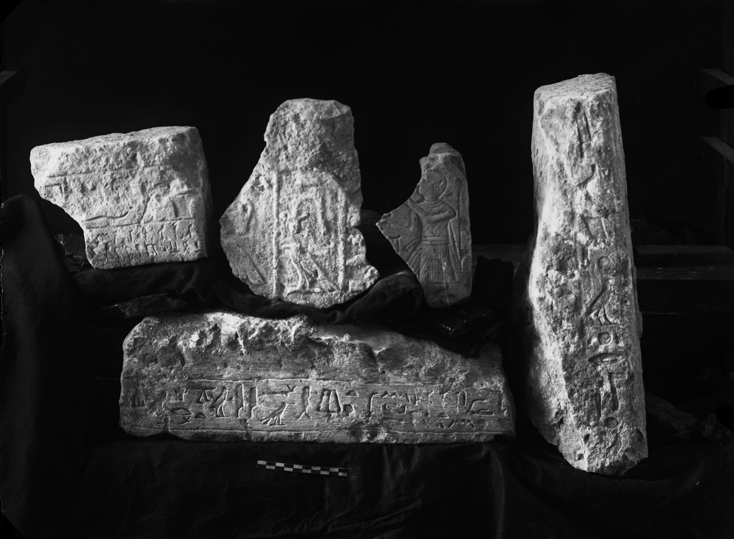 Object(s) photograph: Site: Giza; view: G 2392, G 2431, G 7330-7340, G 7763