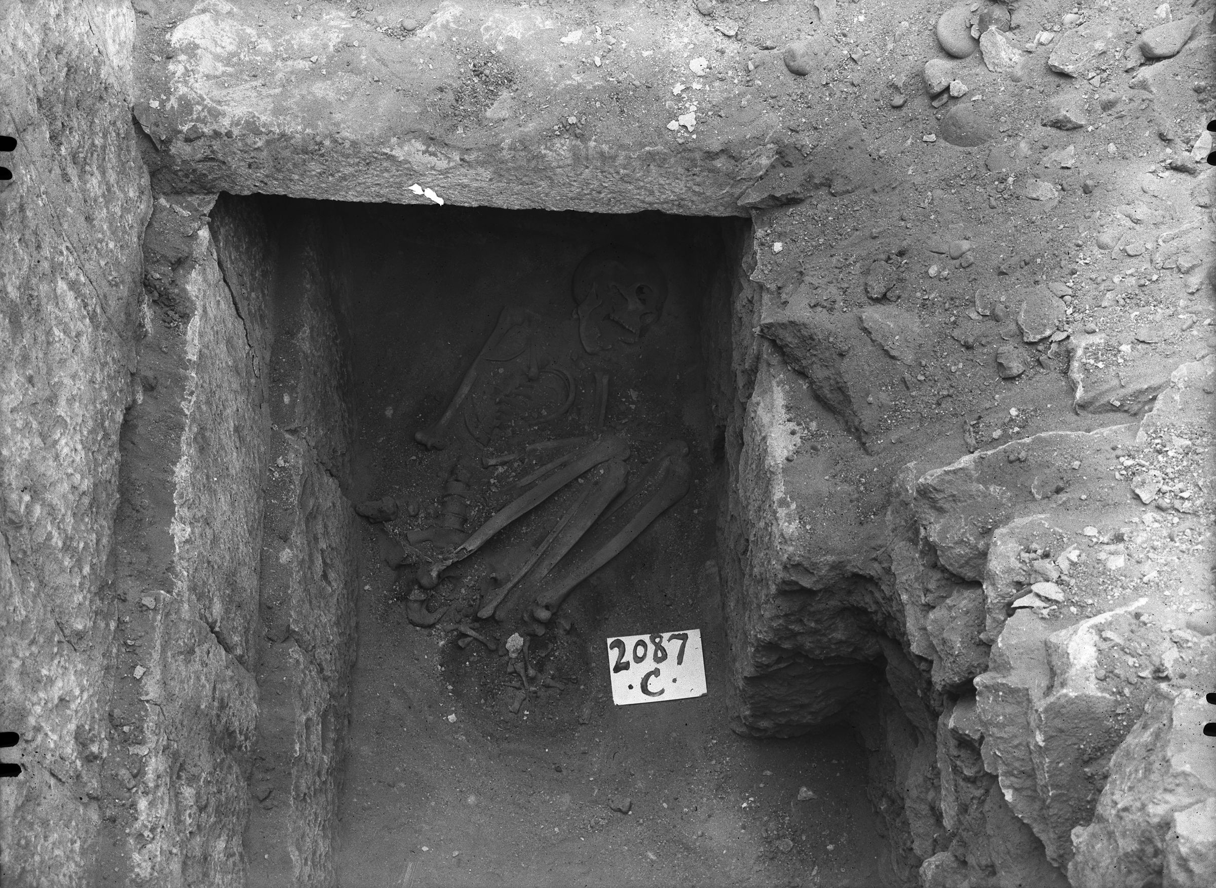 Western Cemetery: Site: Giza; View: G 2087