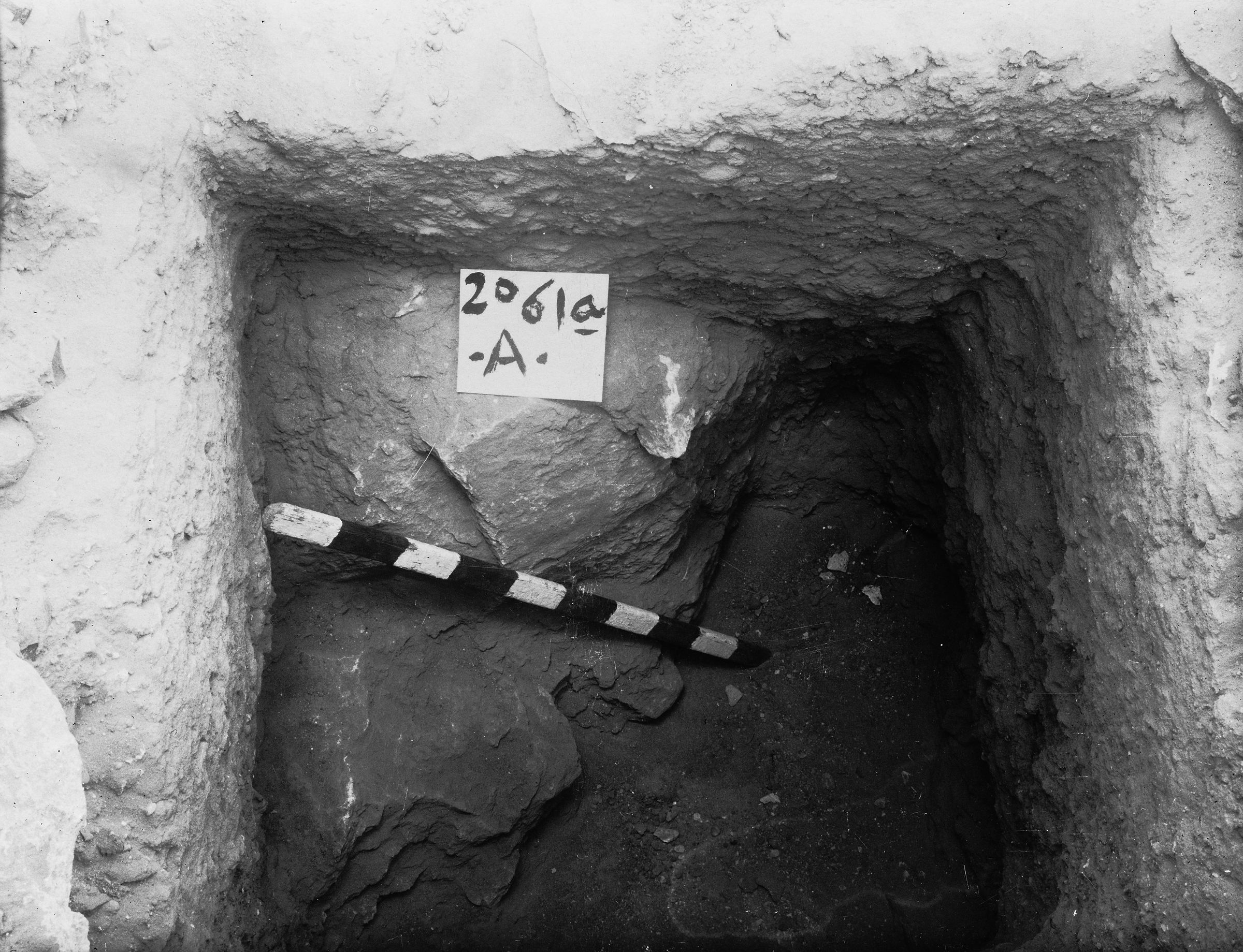 Western Cemetery: Site: Giza; View: G 2061a