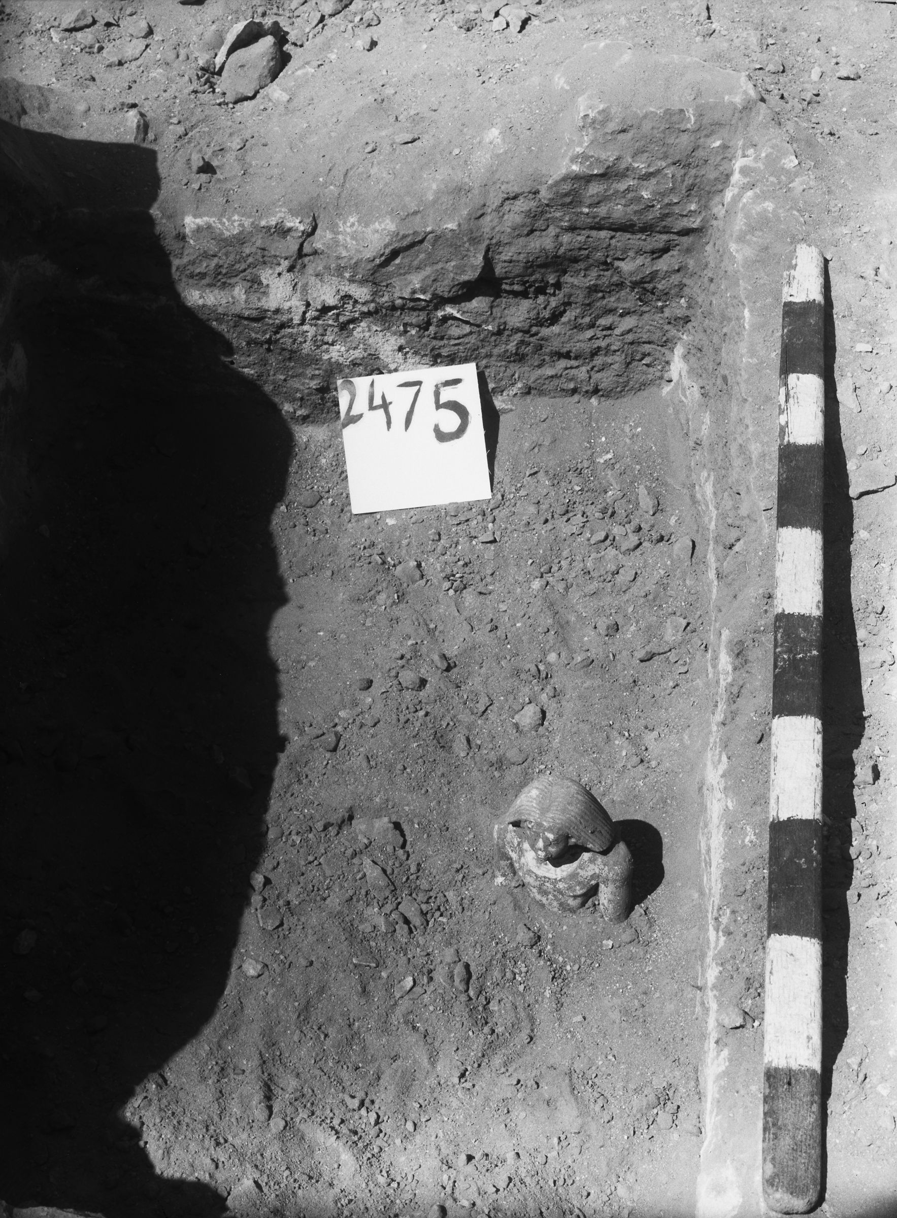 Western Cemetery: Site: Giza; View: G 2475