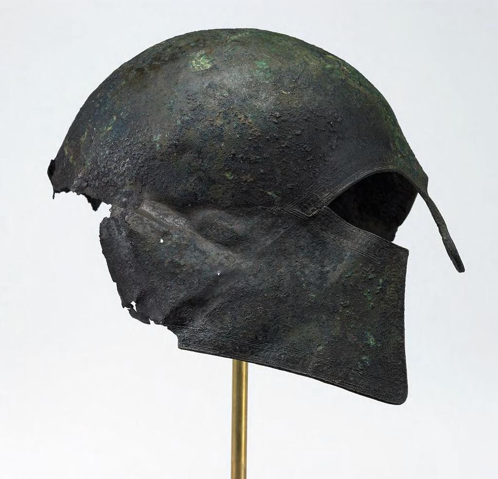 Helmet Of Corinthian Type