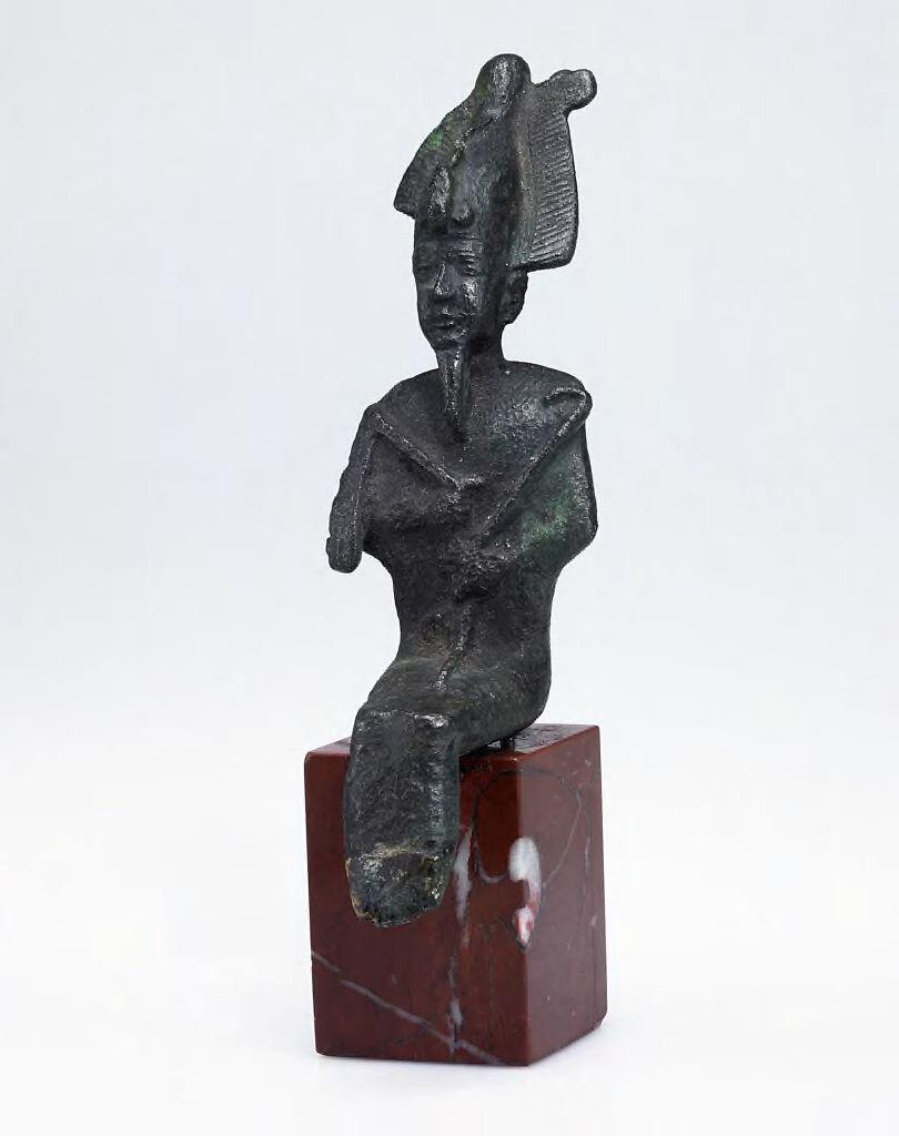 Seated Osiris