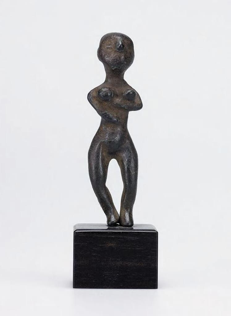 Nude Female Votive Statuette