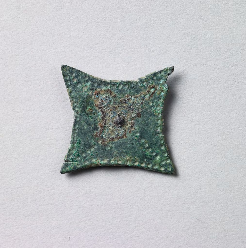 Quatrefoil Fibula Front-Plate Fragment