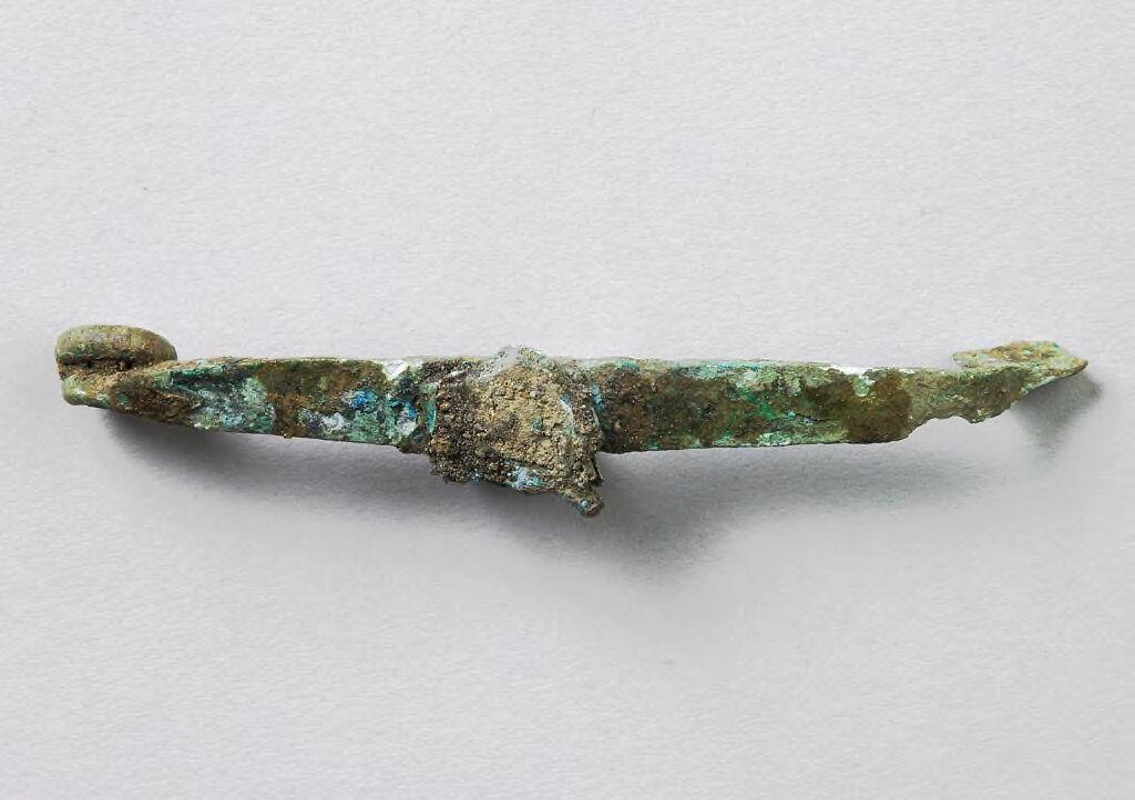 Quatrefoil Fibula Catchplate Fragment